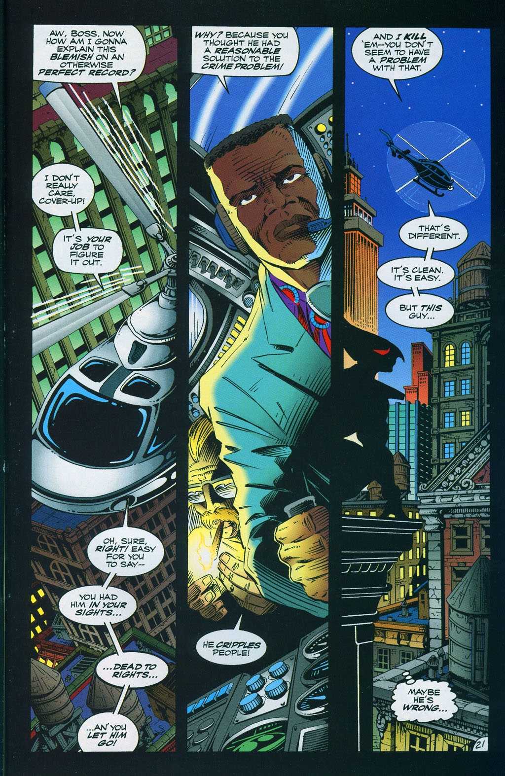 Read online ShadowHawk comic -  Issue #7 - 28