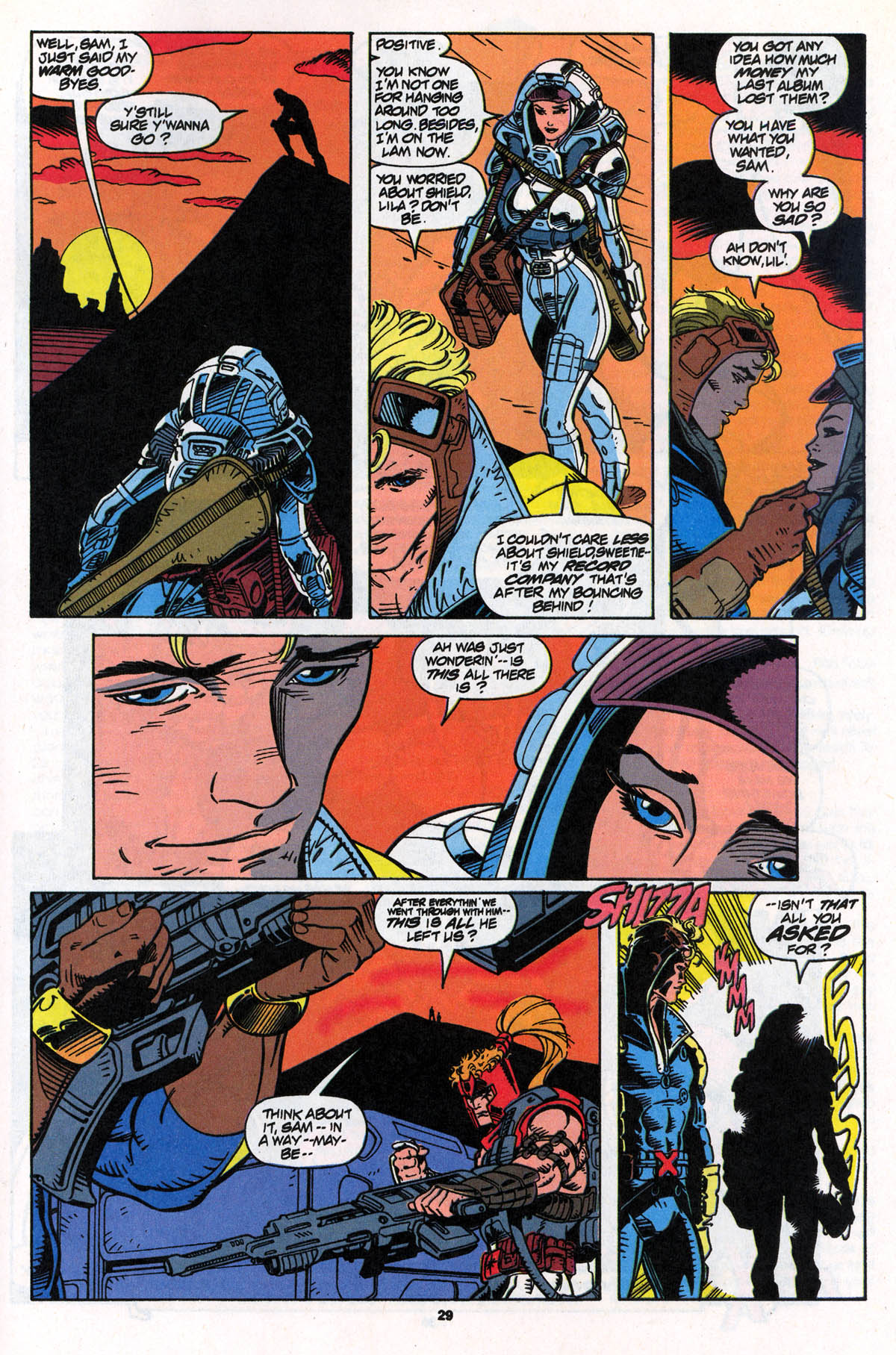 Read online X-Force (1991) comic -  Issue #22 - 29