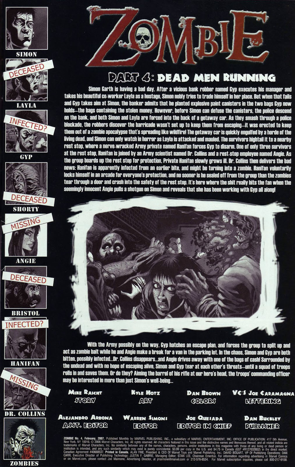 Read online Zombie (2006) comic -  Issue #4 - 2