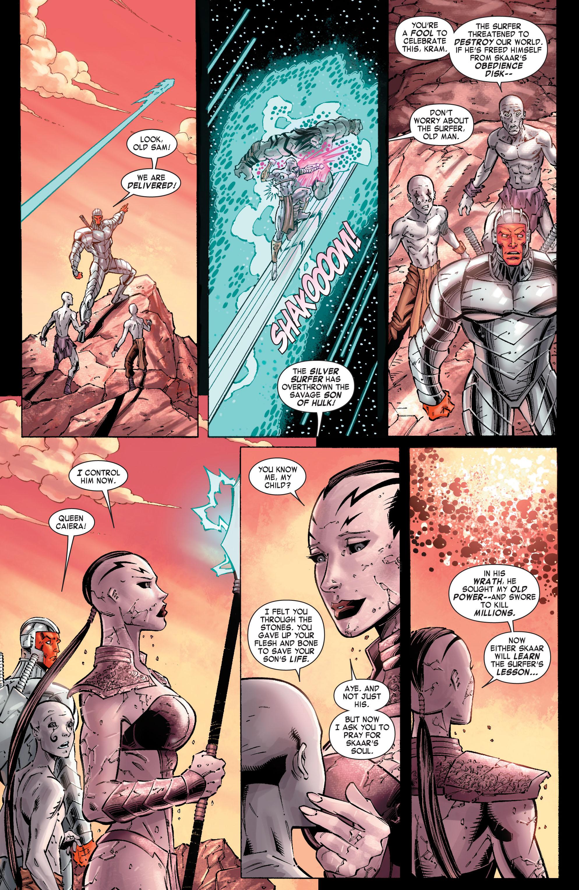 Read online Skaar: Son of Hulk comic -  Issue #10 - 3