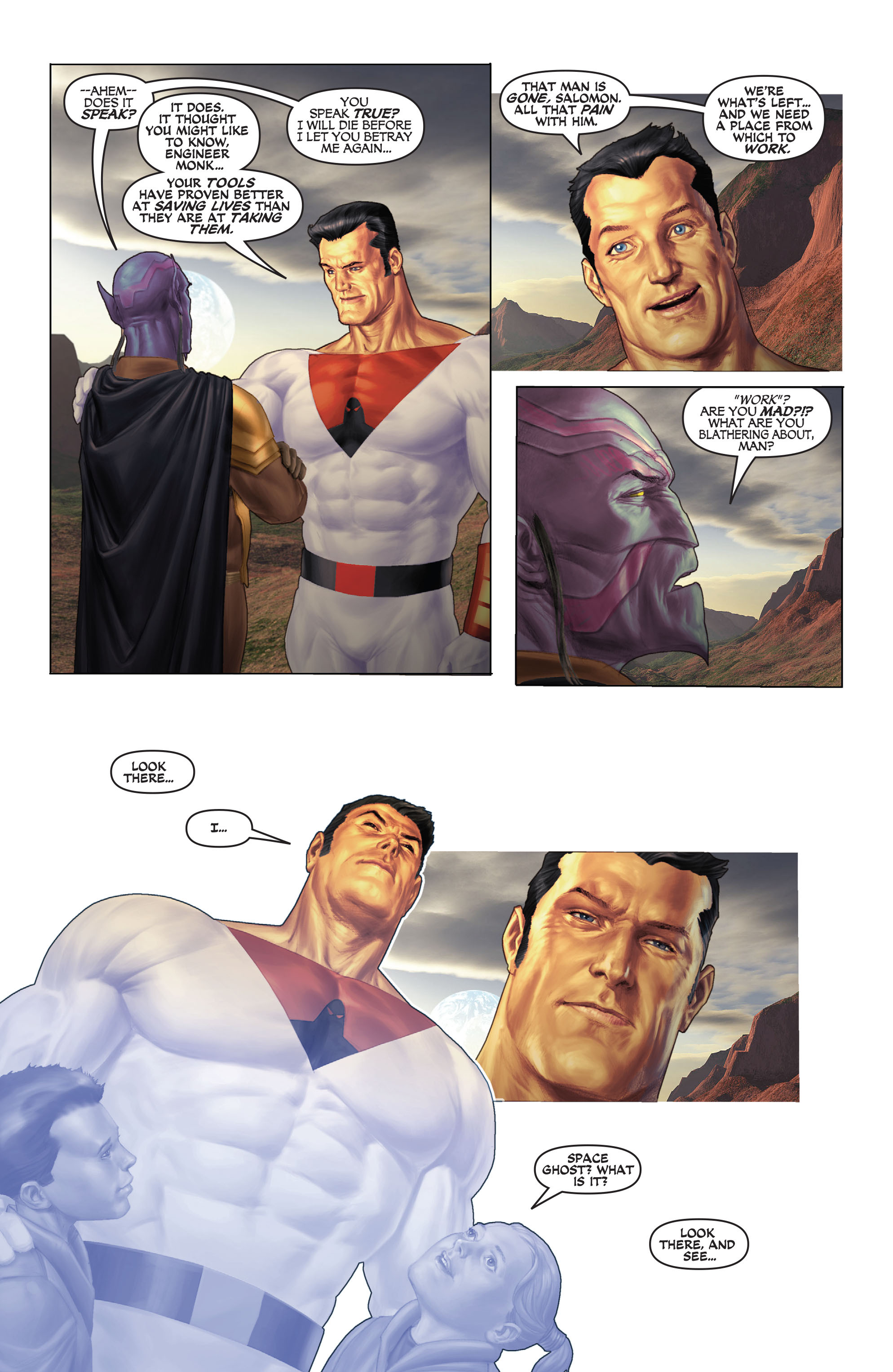 Read online Space Ghost (2016) comic -  Issue # Full - 133