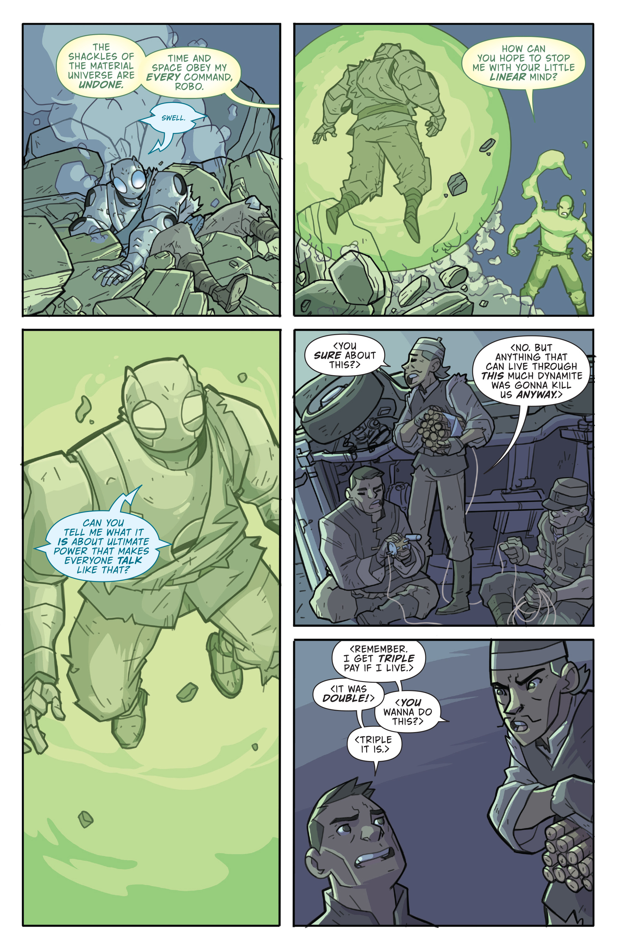 Read online Atomic Robo and the Temple of Od comic -  Issue #4 - 23