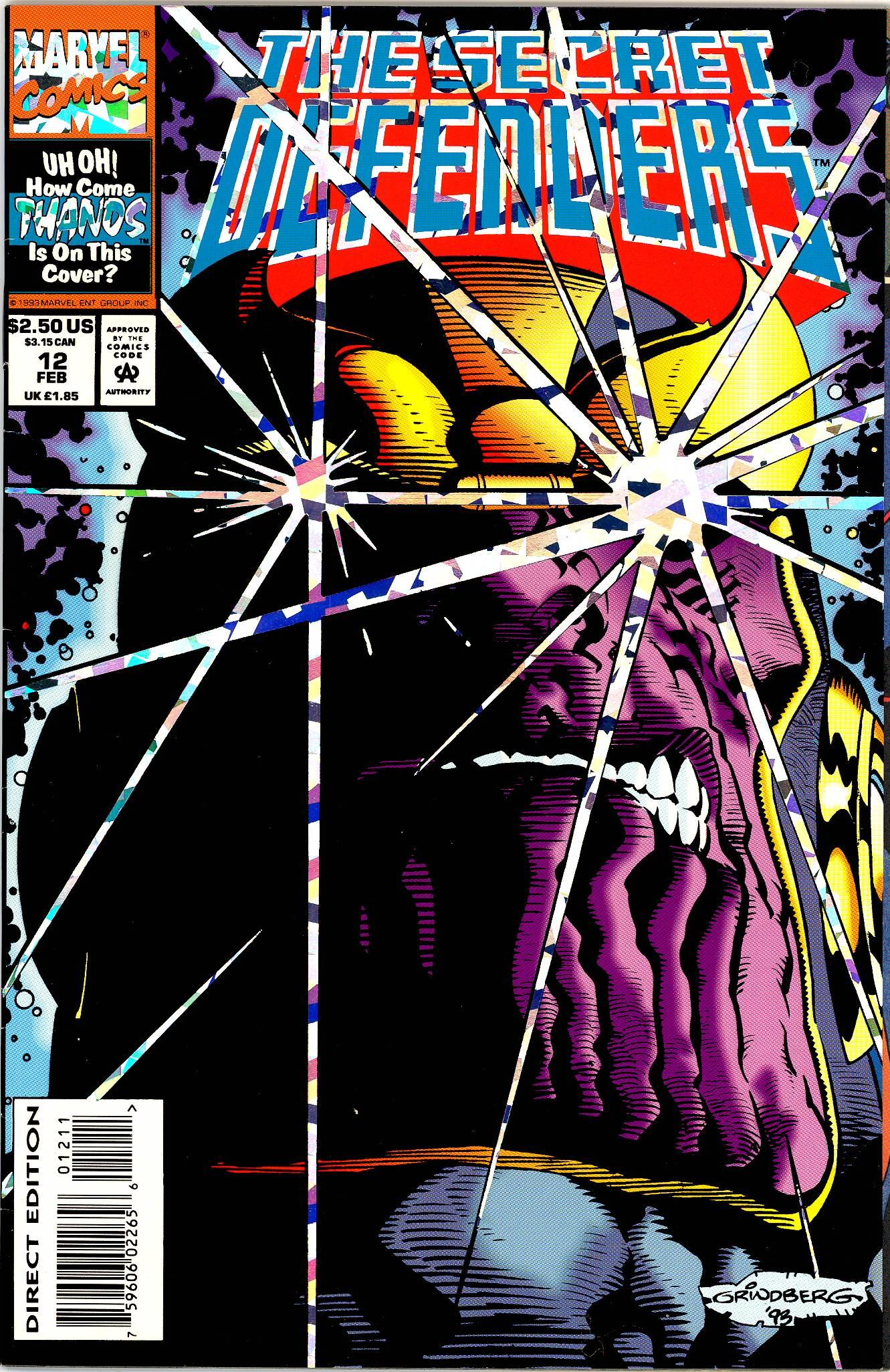 Read online Secret Defenders comic -  Issue #12 - 1