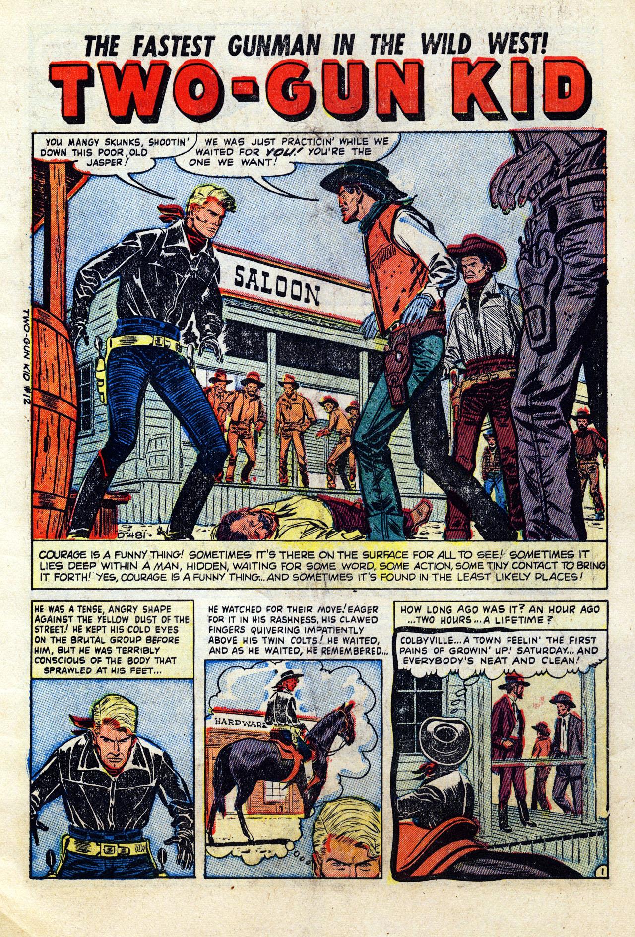 Read online Two-Gun Kid comic -  Issue #12 - 4