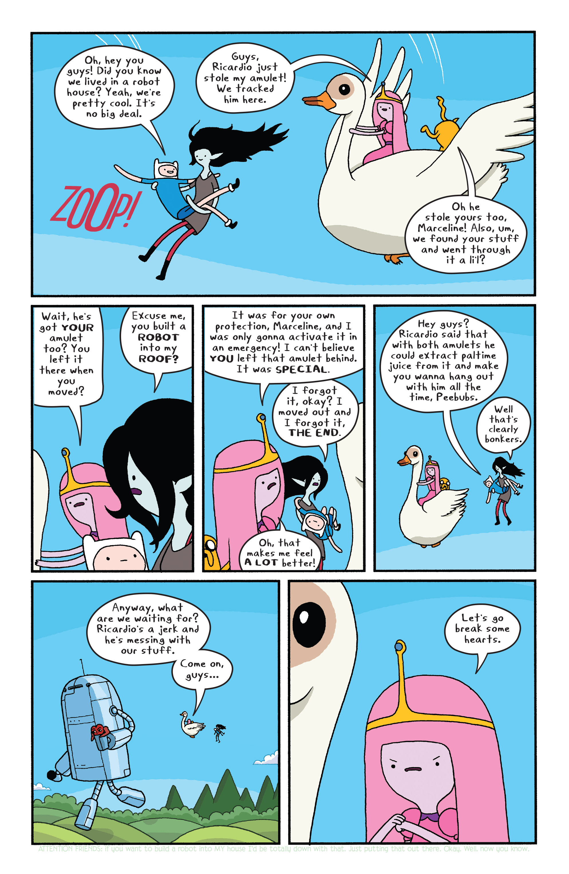 Read online Adventure Time comic -  Issue #Adventure Time _TPB 6 - 24
