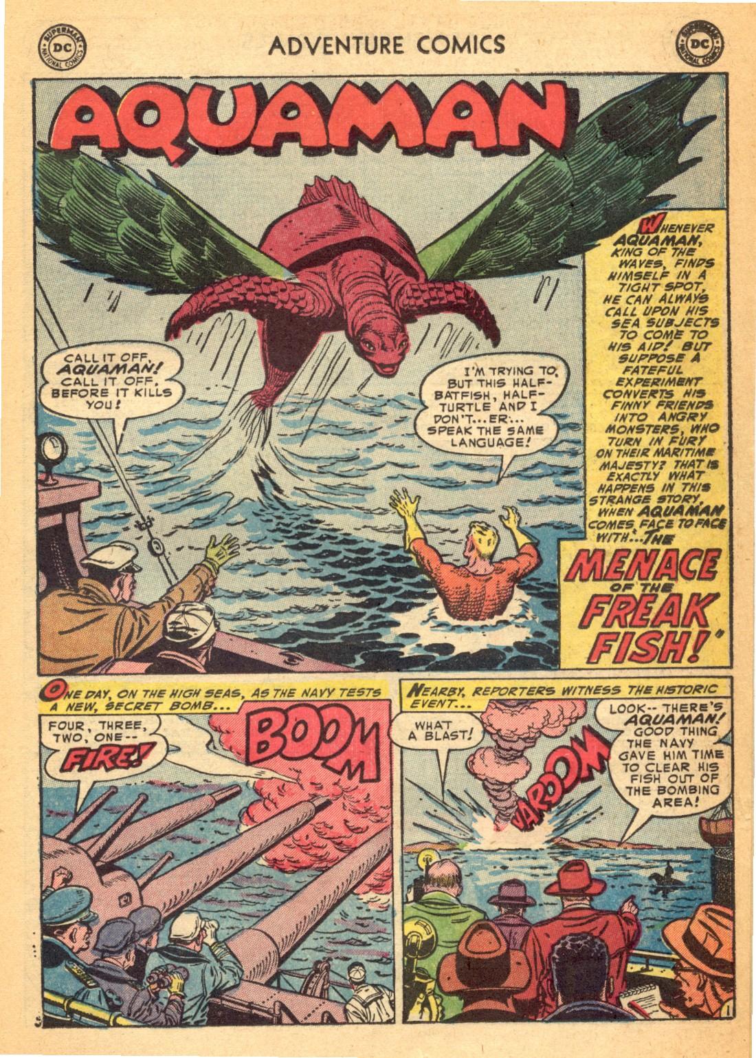 Read online Adventure Comics (1938) comic -  Issue #202 - 25