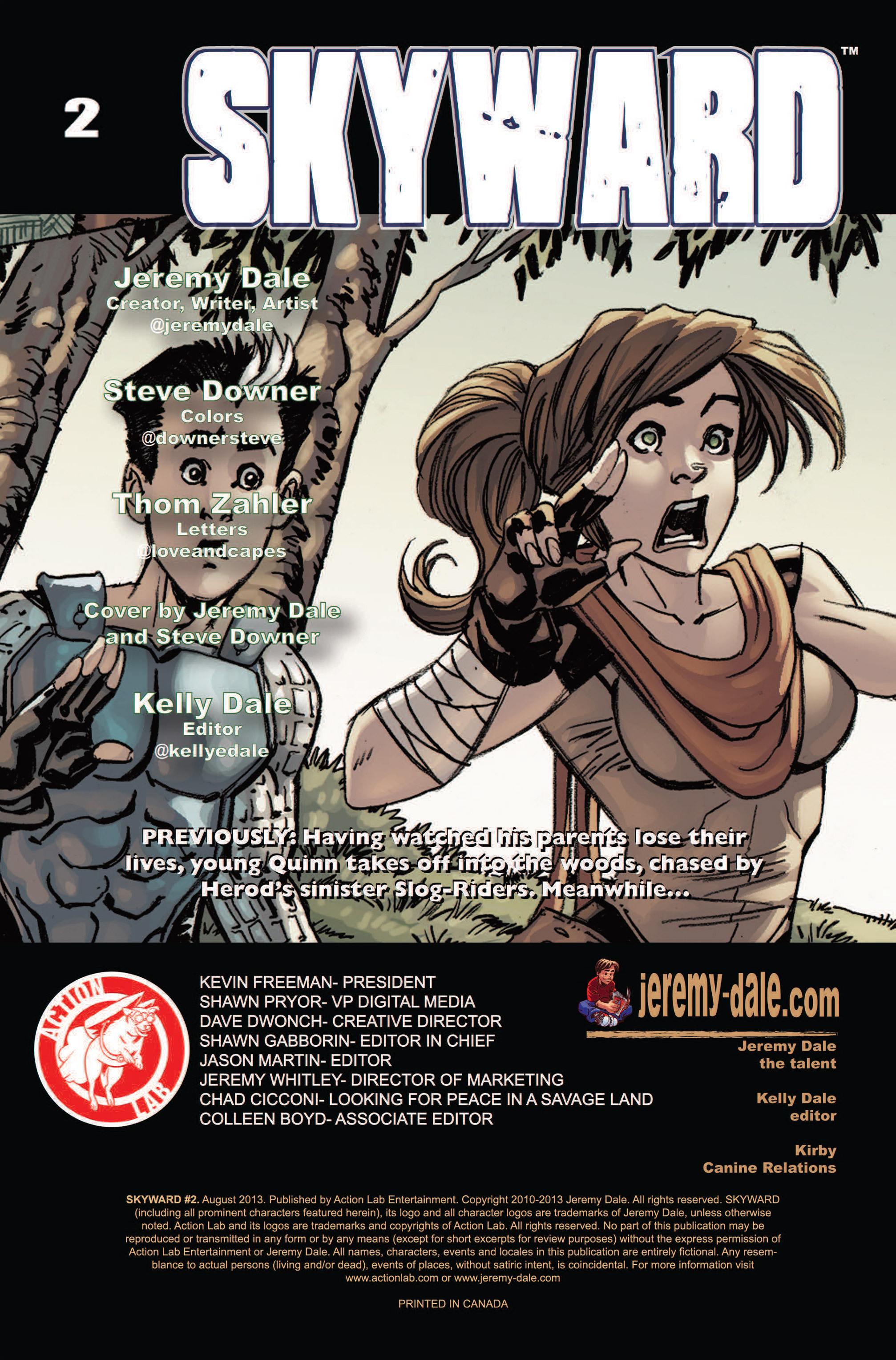 Read online Skyward comic -  Issue #2 - 2