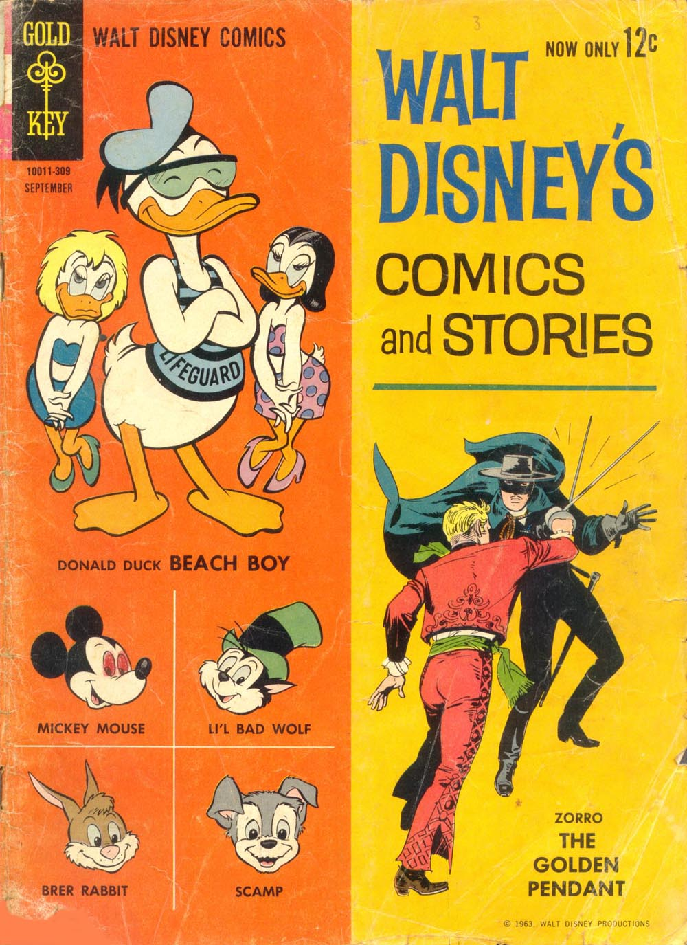 Walt Disney's Comics and Stories issue 276 - Page 1