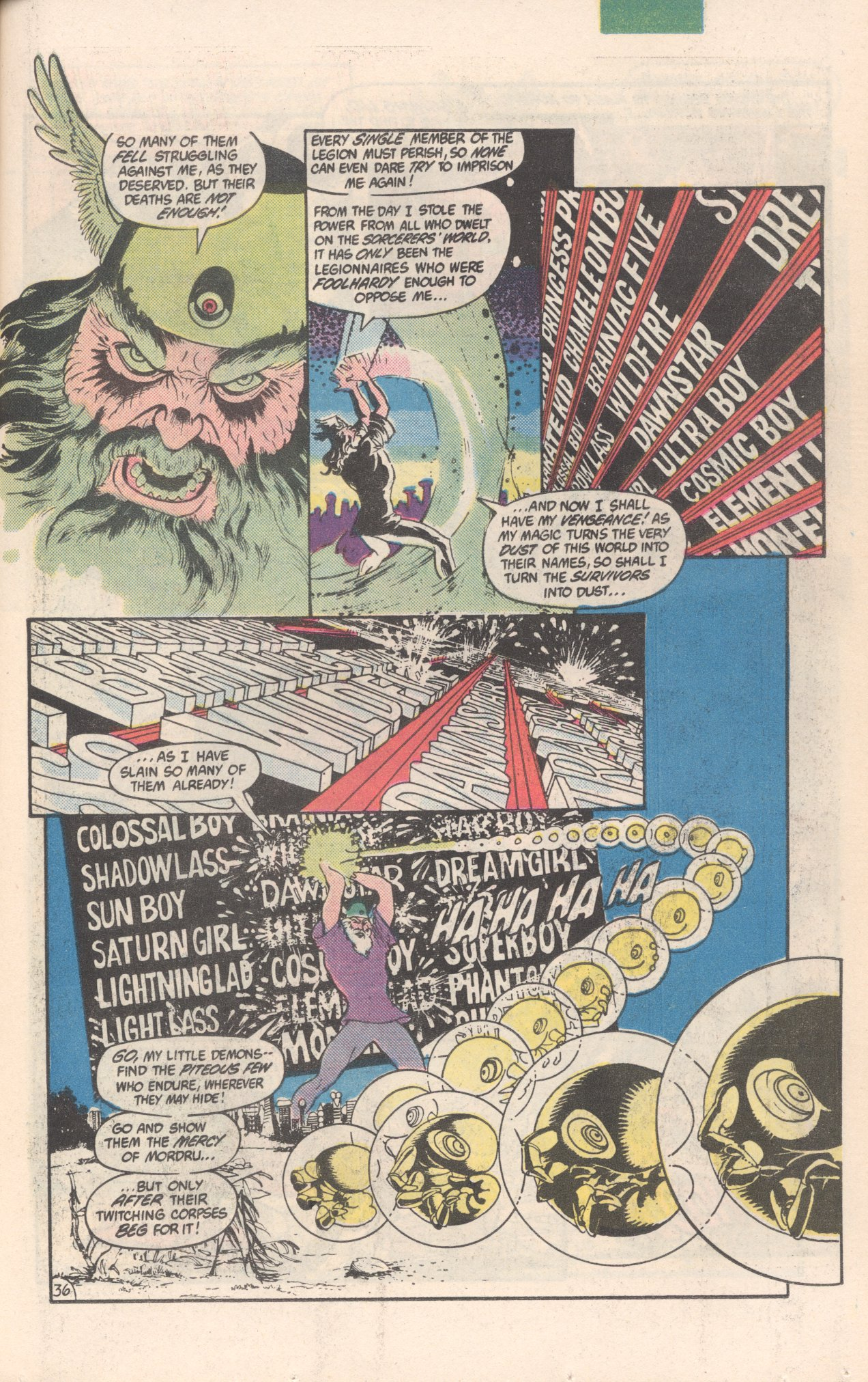 Legion of Super-Heroes (1980) 300 Page 36