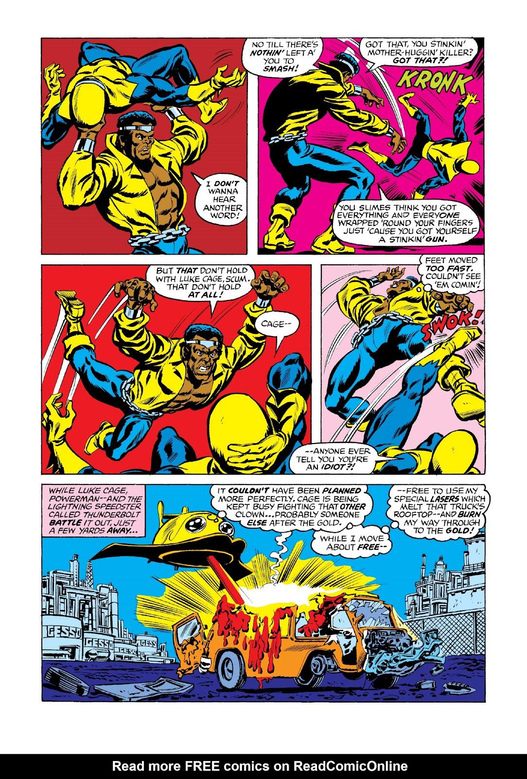 Read online Marvel Masterworks: Luke Cage, Power Man comic -  Issue # TPB 3 (Part 3) - 3