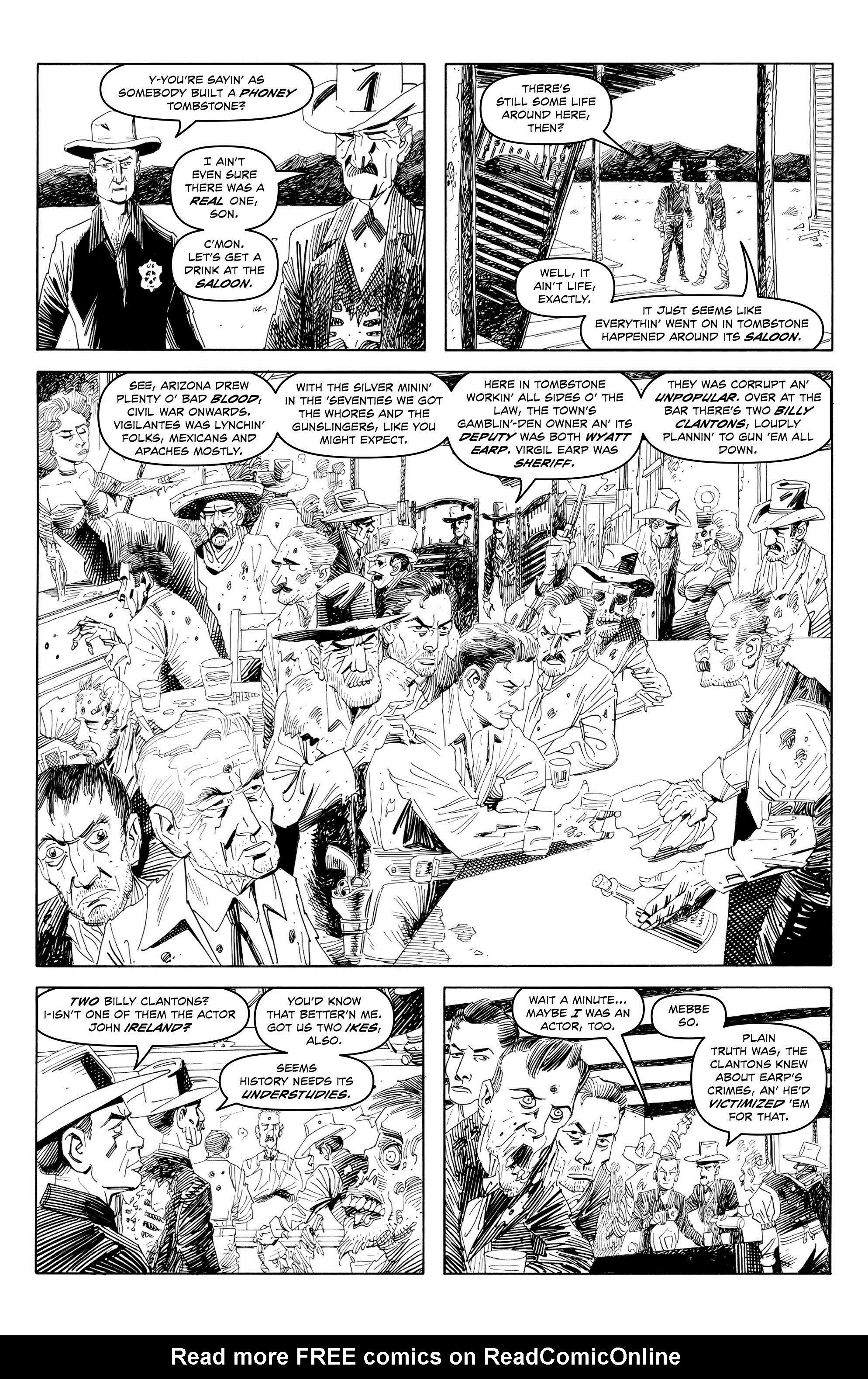 Read online Alan Moore's Cinema Purgatorio comic -  Issue #7 - 8