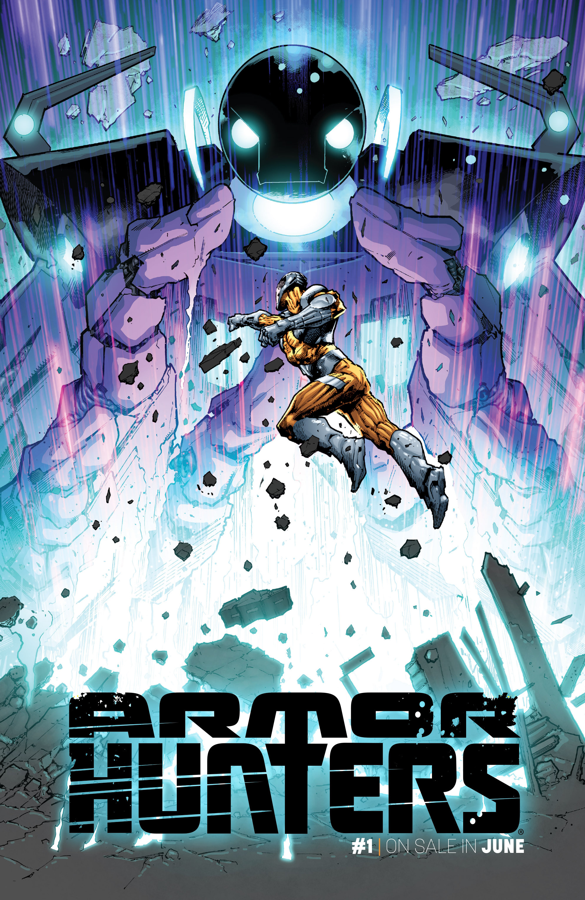 Read online Armor Hunters comic -  Issue #Armor Hunters _Special - 9