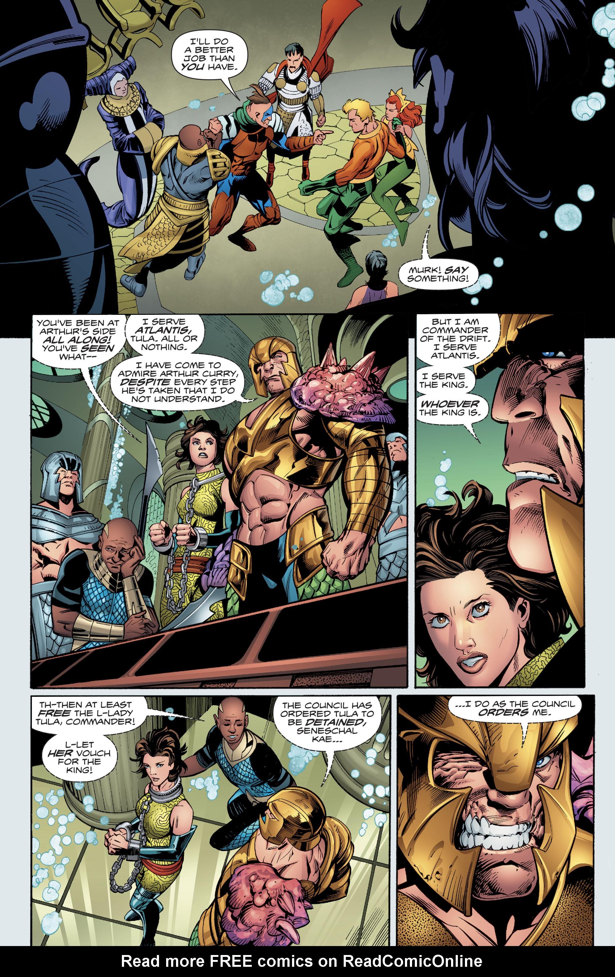 Read online Aquaman (2016) comic -  Issue #23 - 21