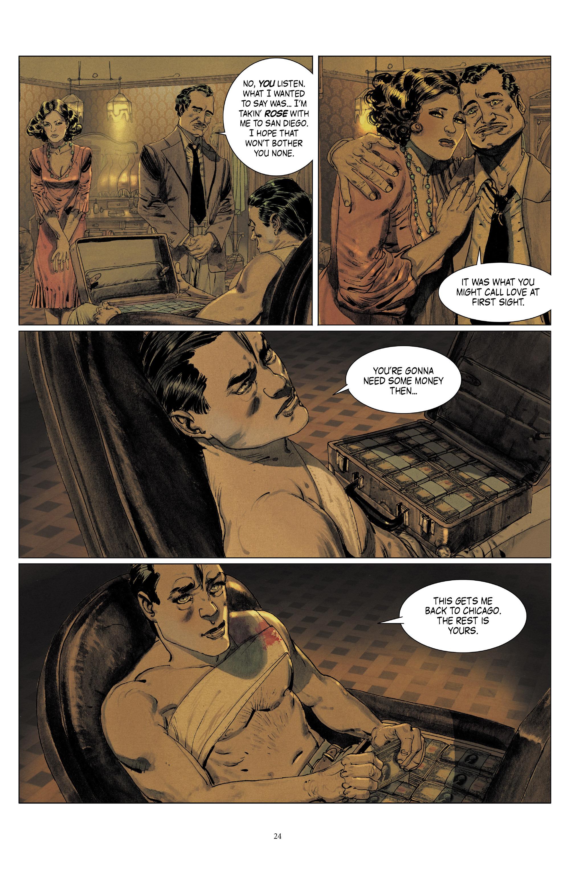Read online Triggerman comic -  Issue #5 - 24