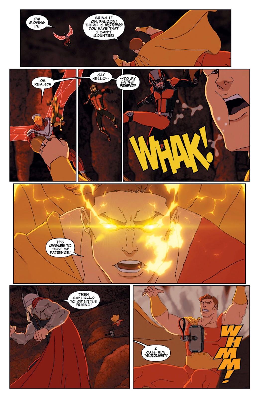 Read online Marvel Universe Avengers Assemble Season 2 comic -  Issue #14 - 23