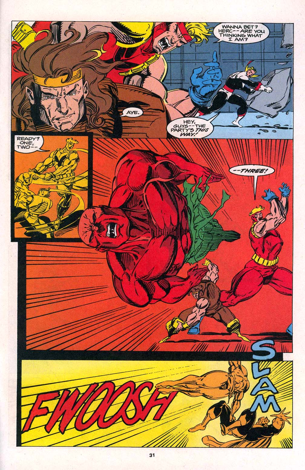 Avengers Unplugged issue 1 - Page 23