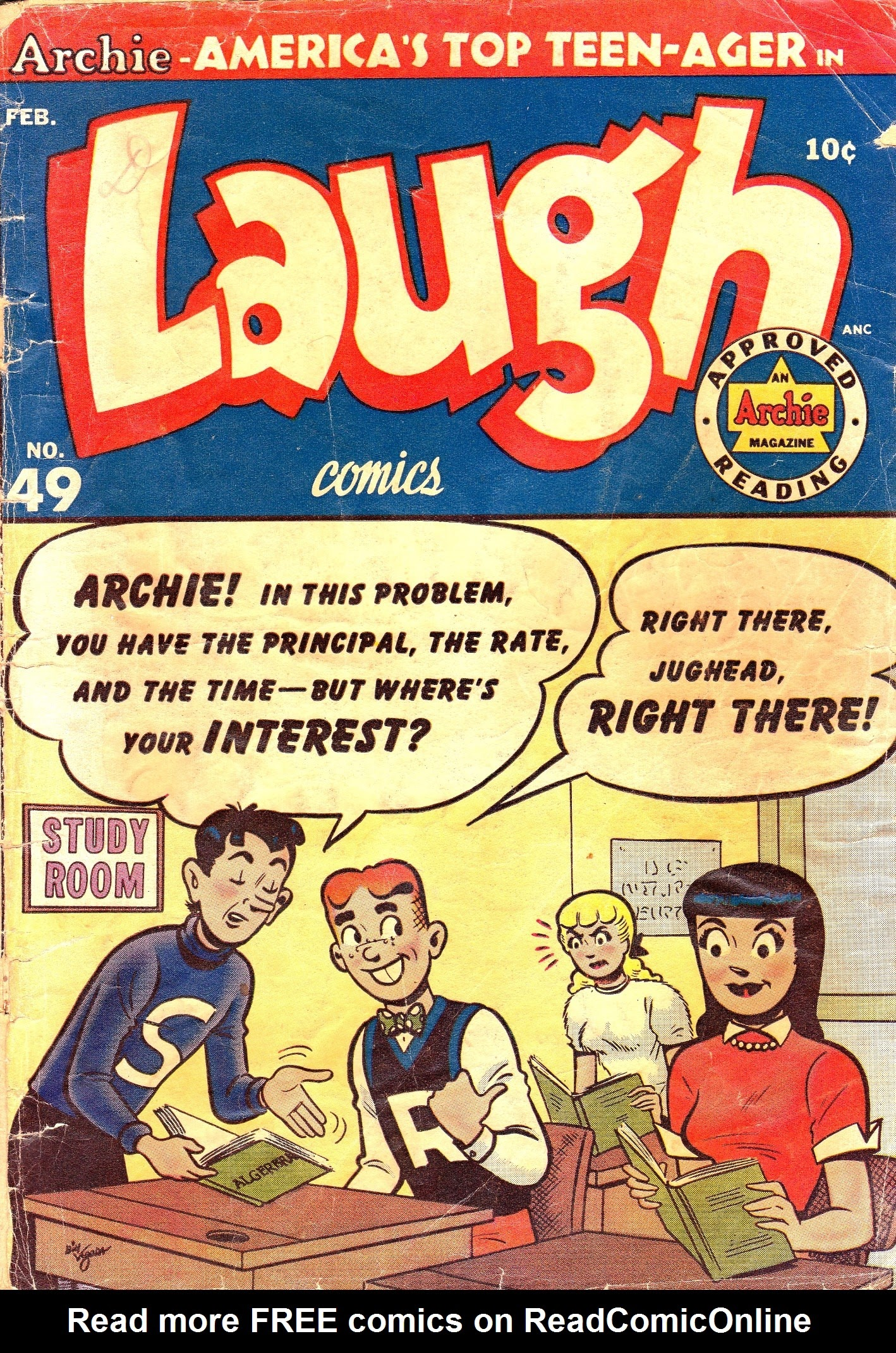 Laugh (Comics) 49 Page 1