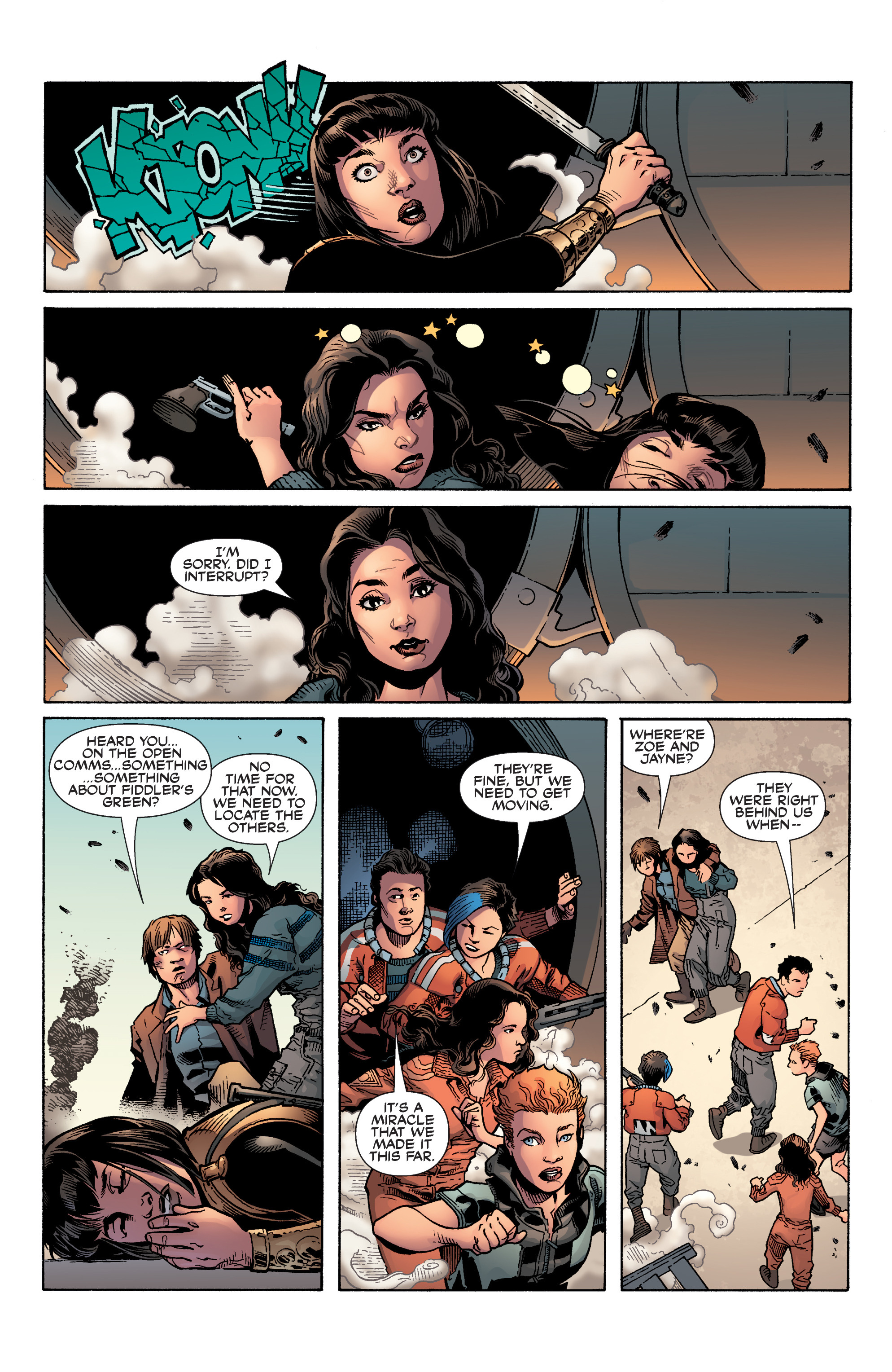 Read online Serenity: Firefly Class 03-K64 – No Power in the 'Verse comic -  Issue #6 - 11
