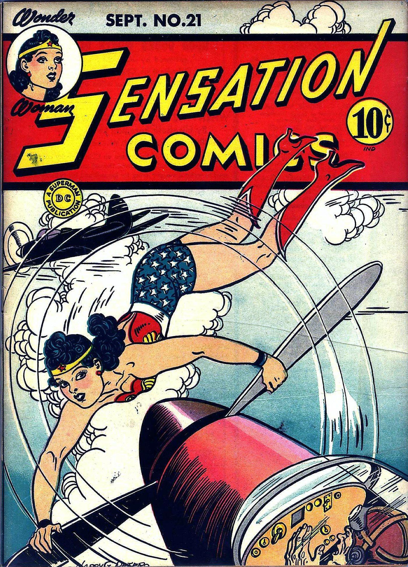 Read online Sensation (Mystery) Comics comic -  Issue #21 - 1