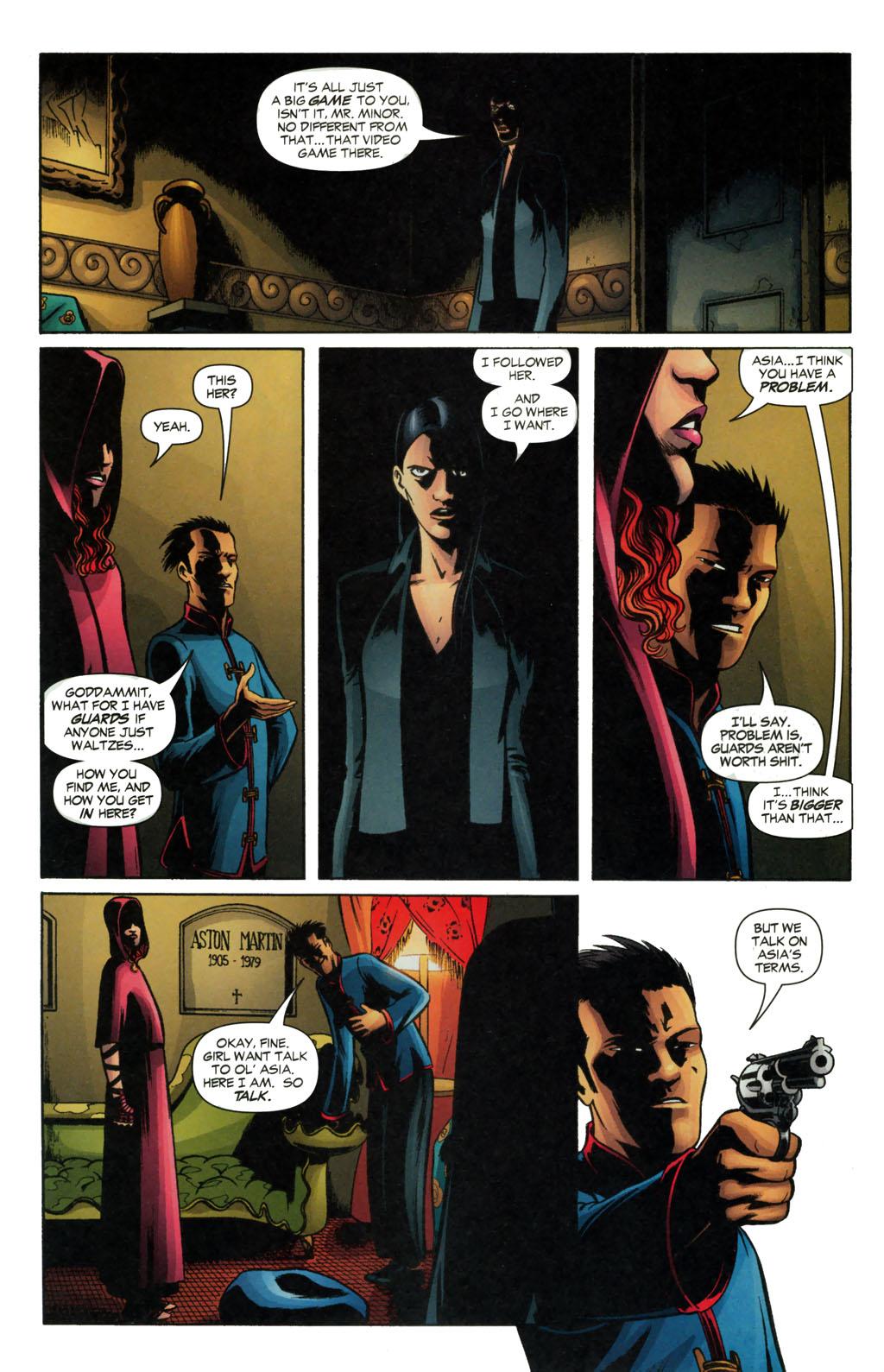 Read online Fallen Angel (2003) comic -  Issue #13 - 17