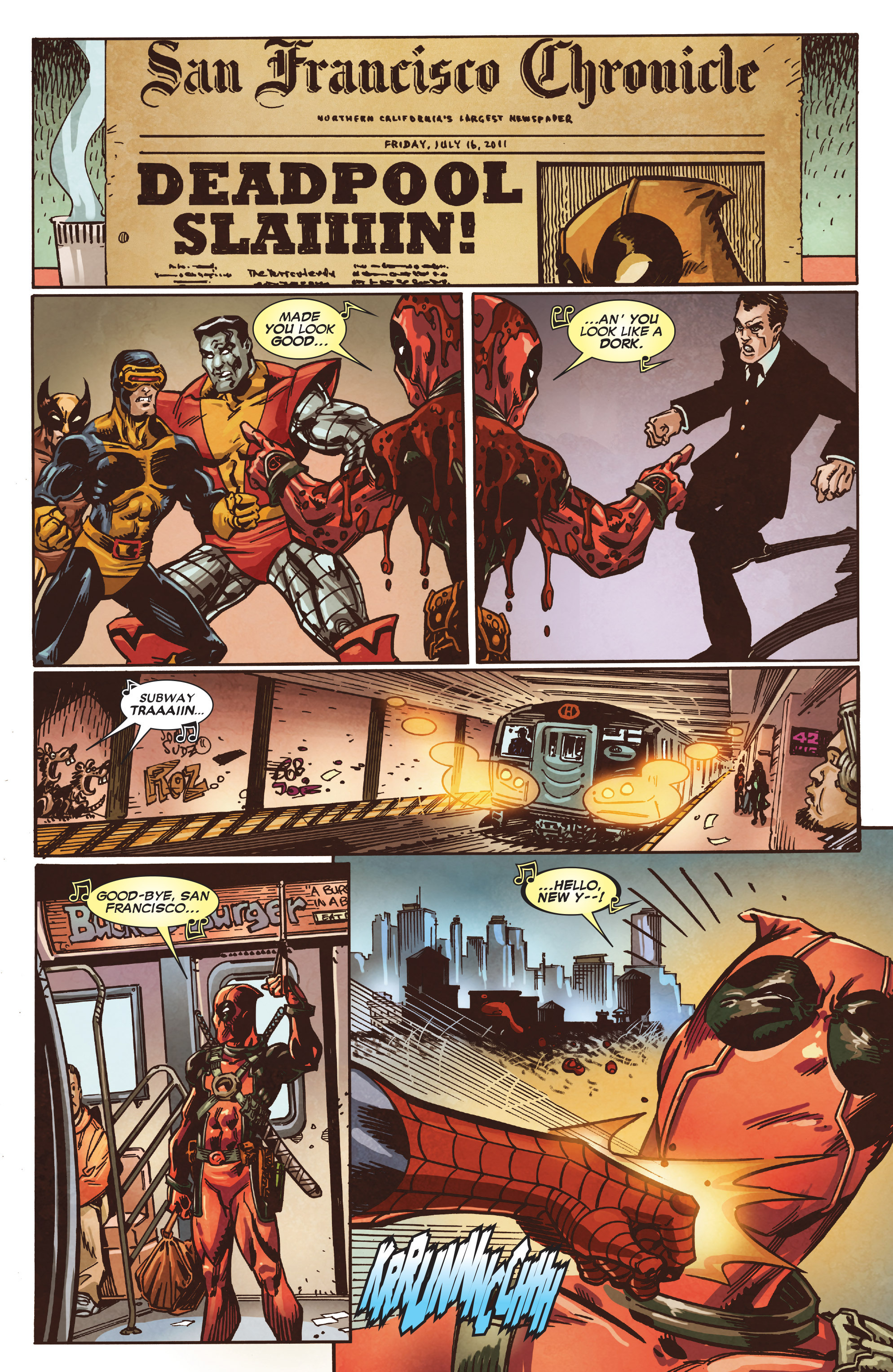Read online True Believers: Deadpool the Musical comic -  Issue # Full - 13