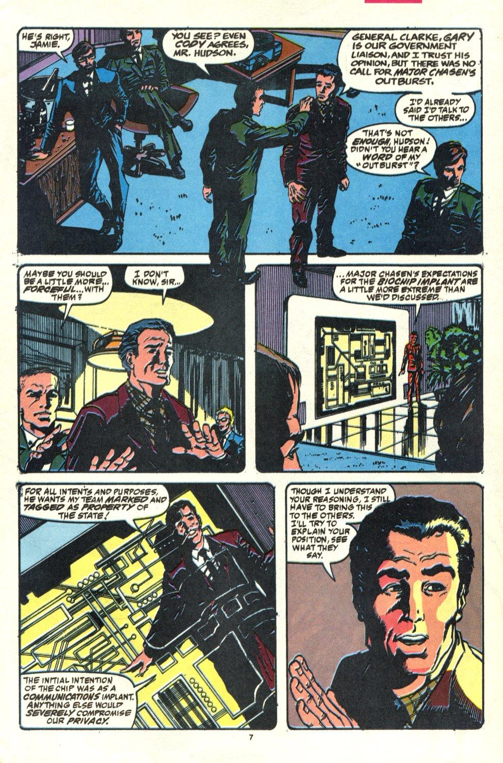 Read online Alpha Flight (1983) comic -  Issue #92 - 7