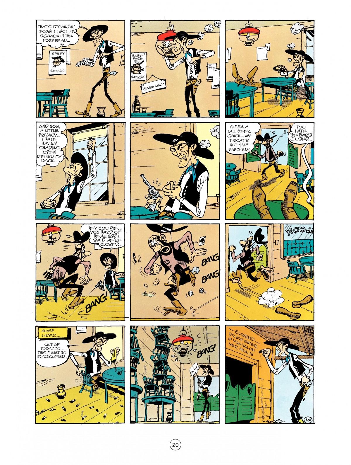 Read online A Lucky Luke Adventure comic -  Issue #40 - 20