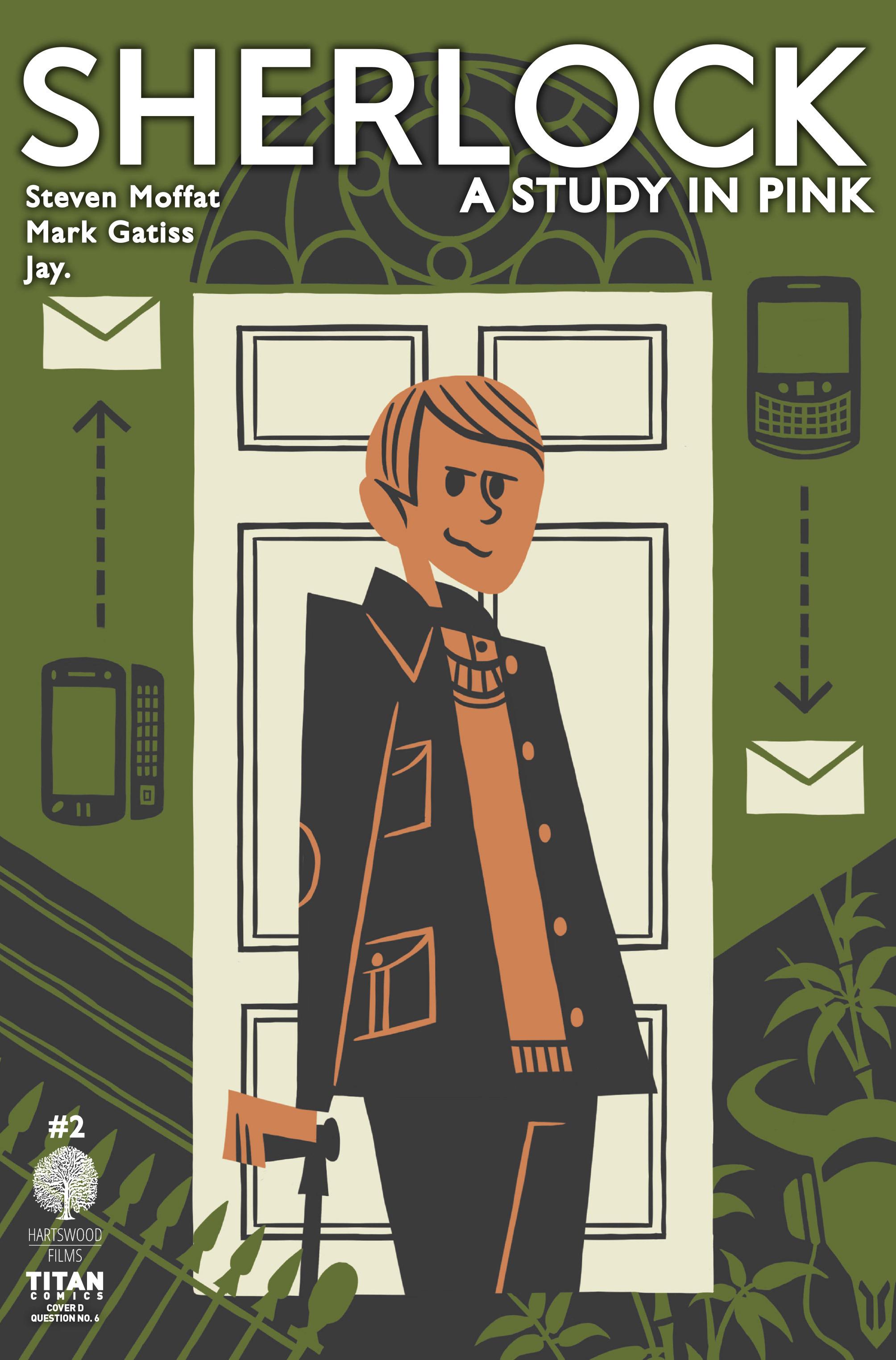 Read online Sherlock: A Study In Pink comic -  Issue #2 - 4