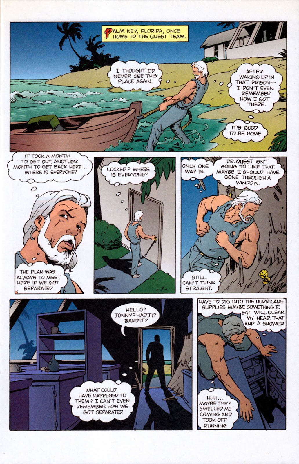 Read online The Real Adventures of Jonny Quest comic -  Issue #7 - 21
