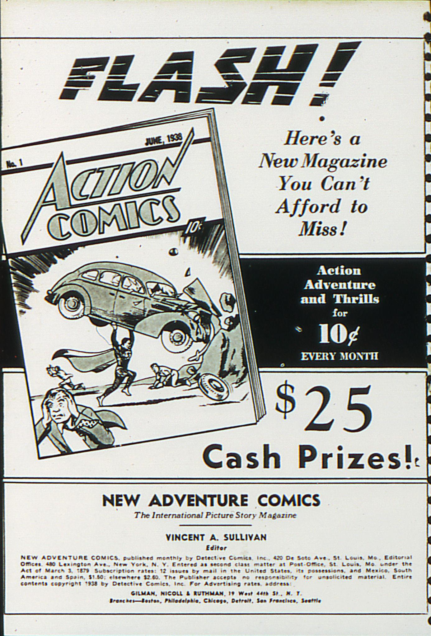 Read online Adventure Comics (1938) comic -  Issue #27 - 2