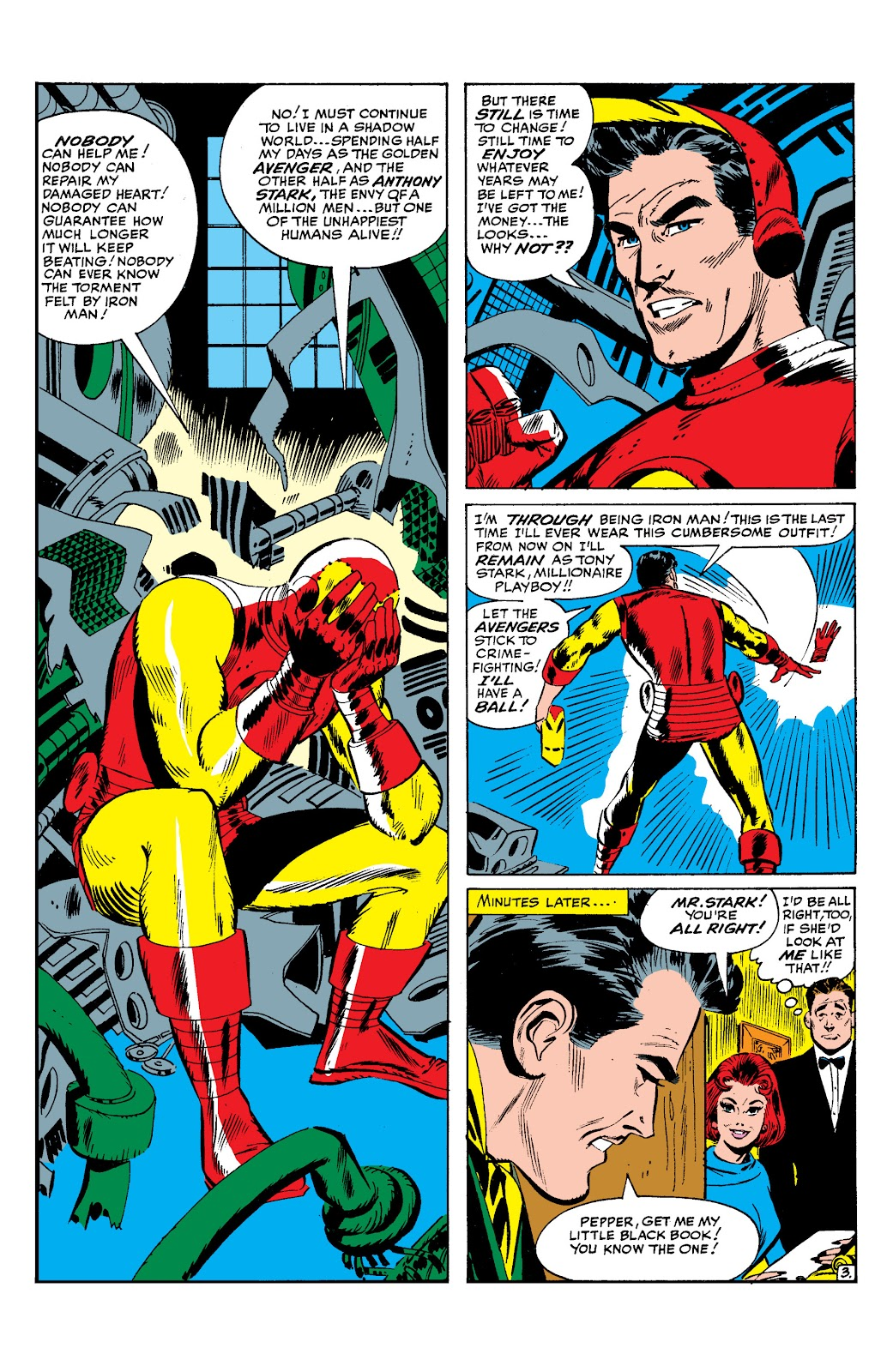 Read online Marvel Masterworks: The Invincible Iron Man comic -  Issue # TPB 2 (Part 1) - 84