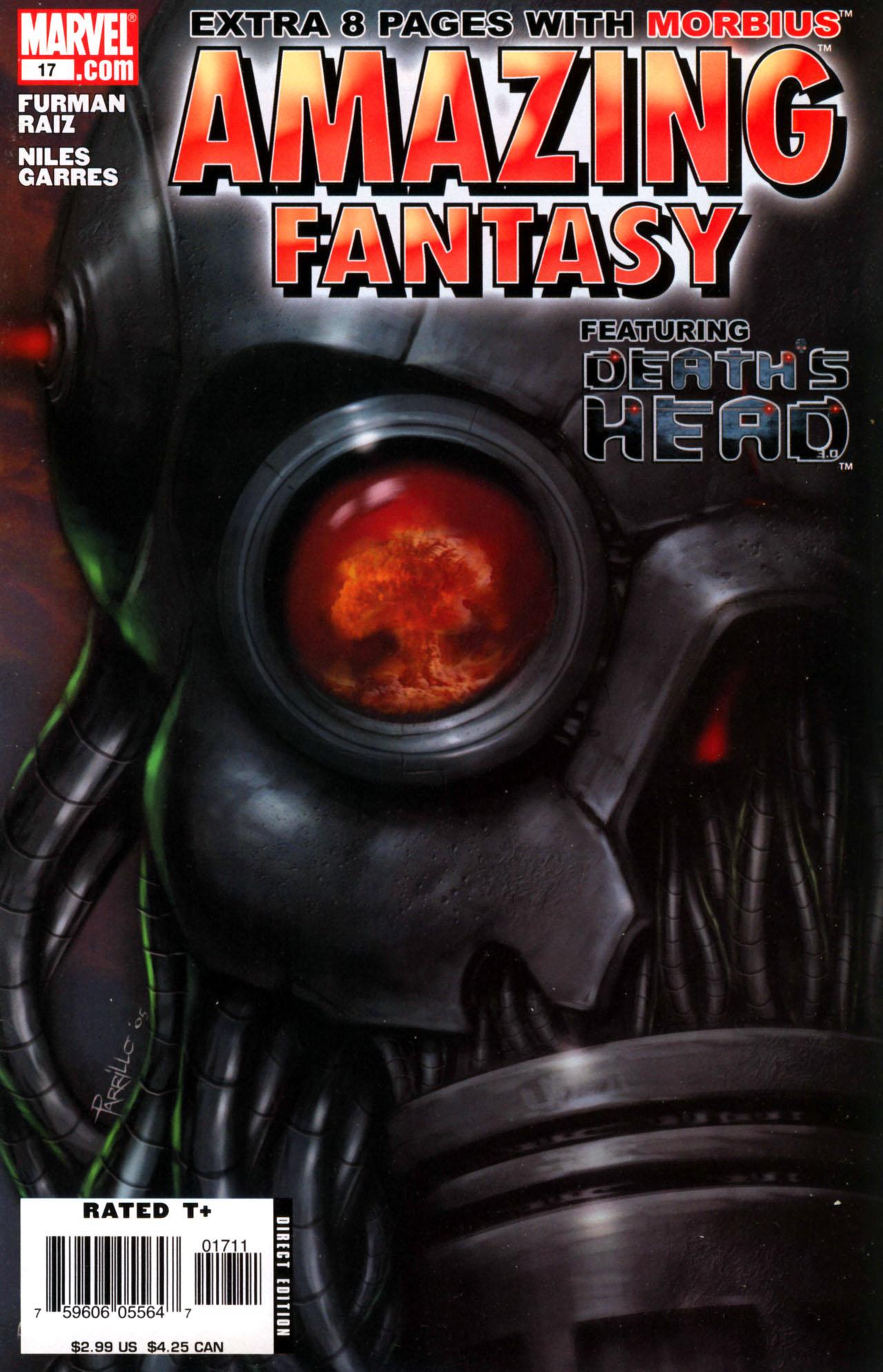 Read online Amazing Fantasy (2004) comic -  Issue #17 - 1