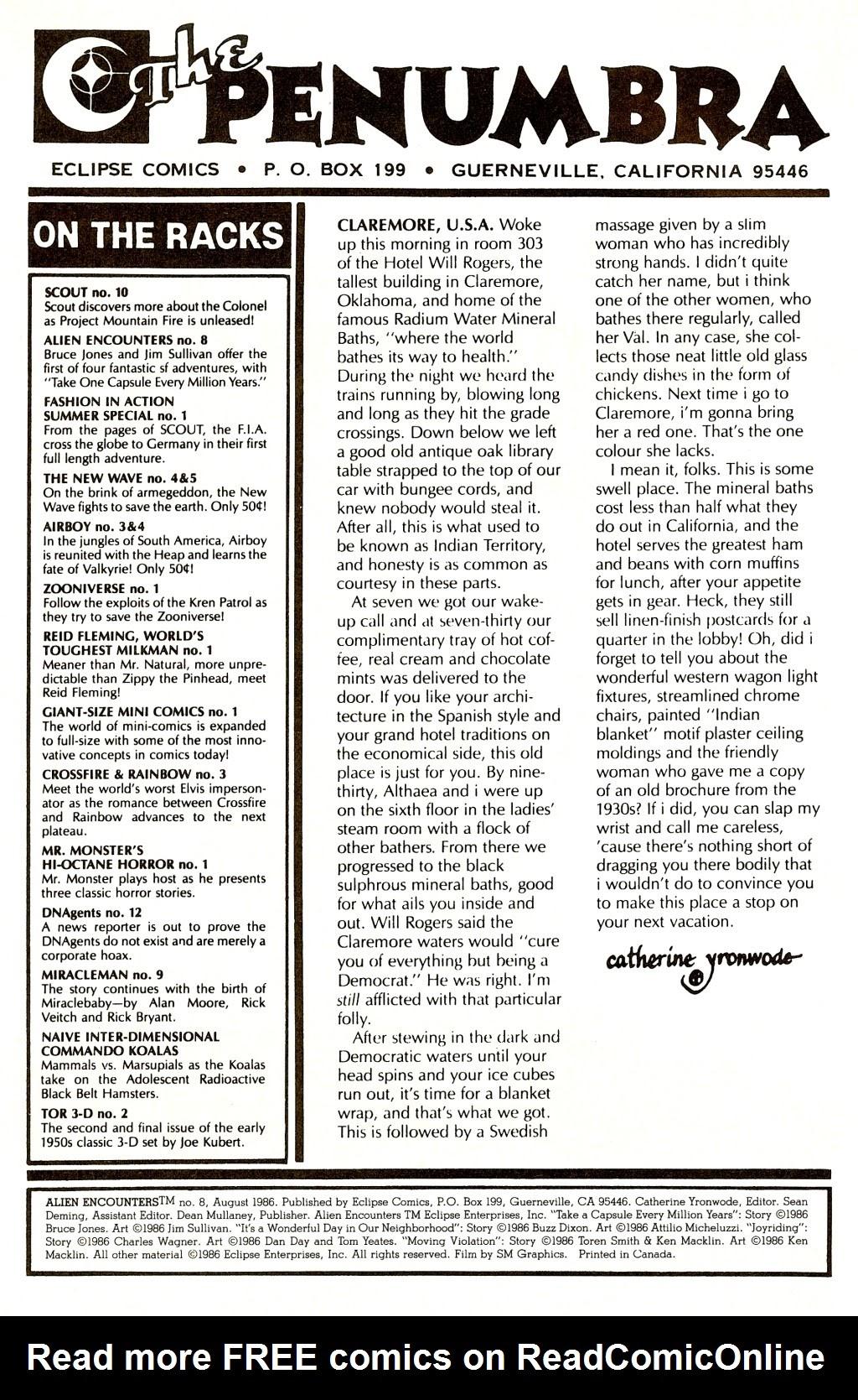 Alien Encounters 8 Page 2