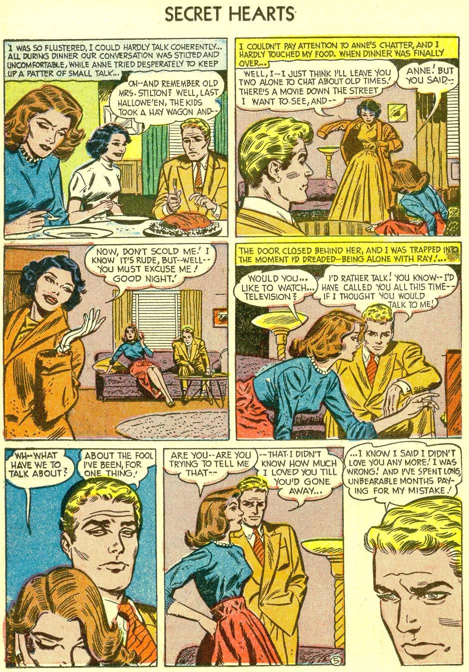 Read online Secret Hearts comic -  Issue #21 - 22
