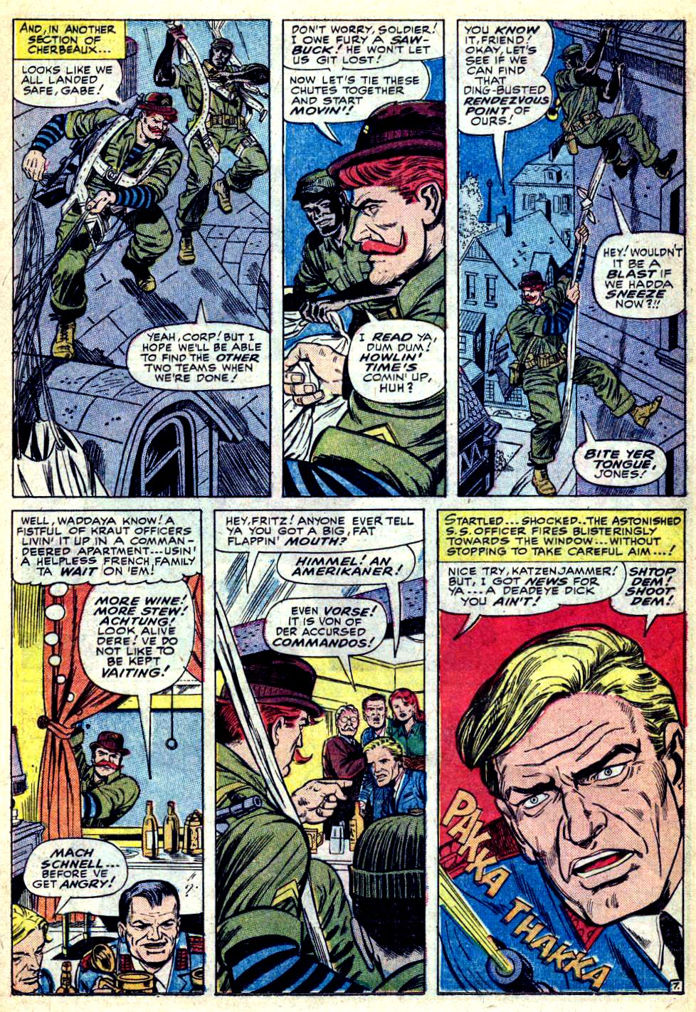 Read online Sgt. Fury comic -  Issue #28 - 11