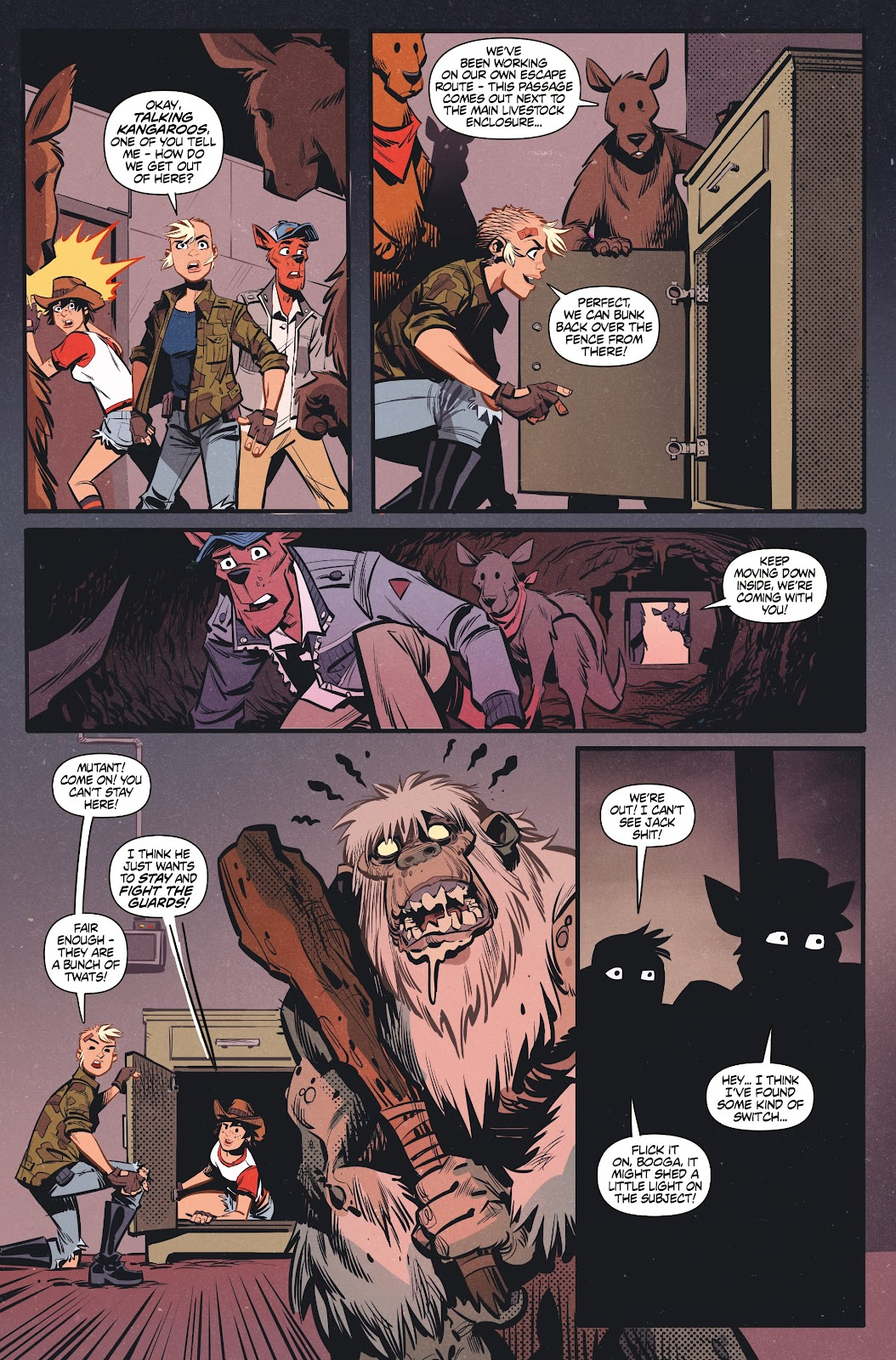 Read online Tank Girl Ongoing comic -  Issue #3 - 23
