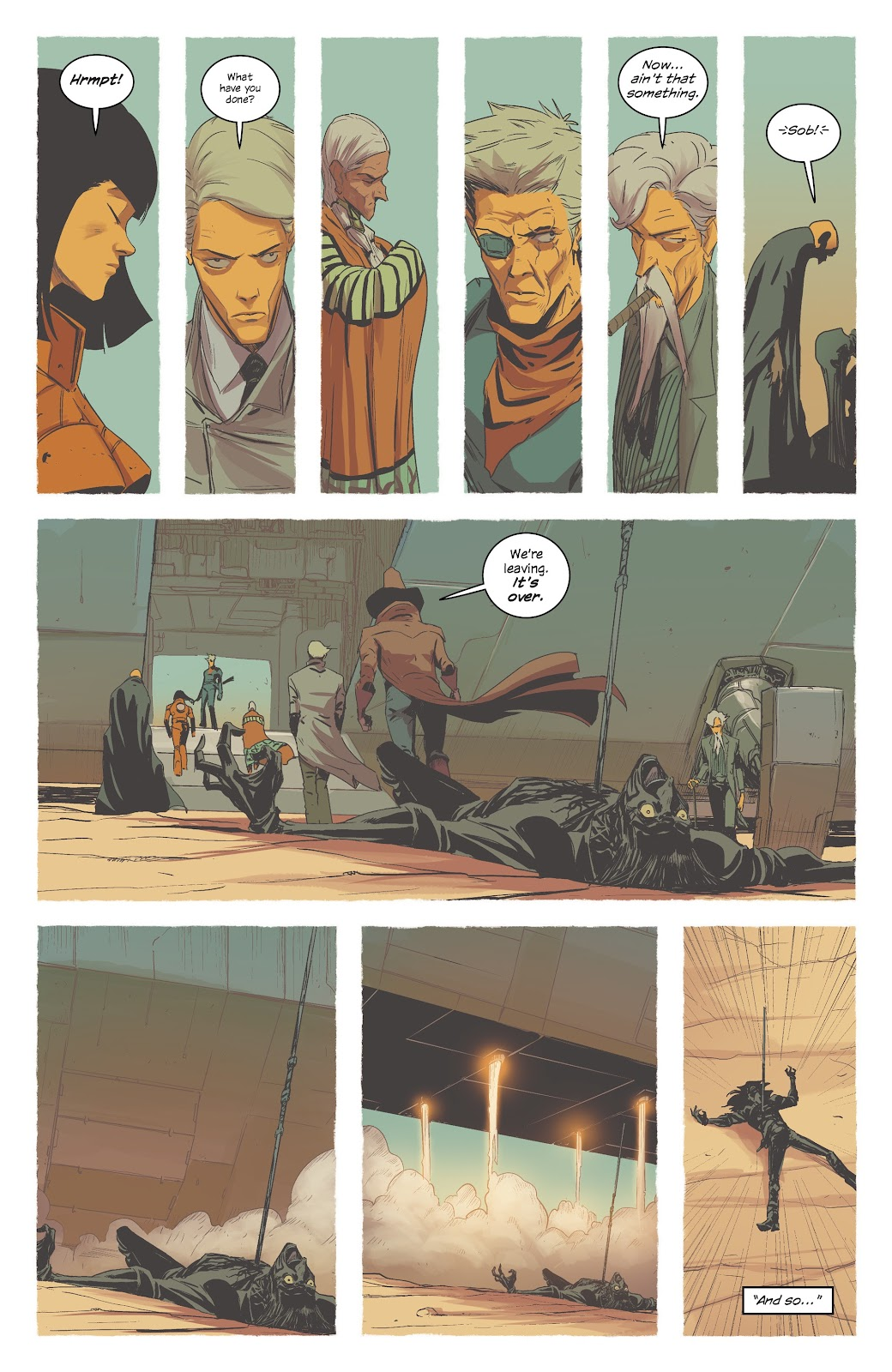 Read online East Of West comic -  Issue #42 - 28
