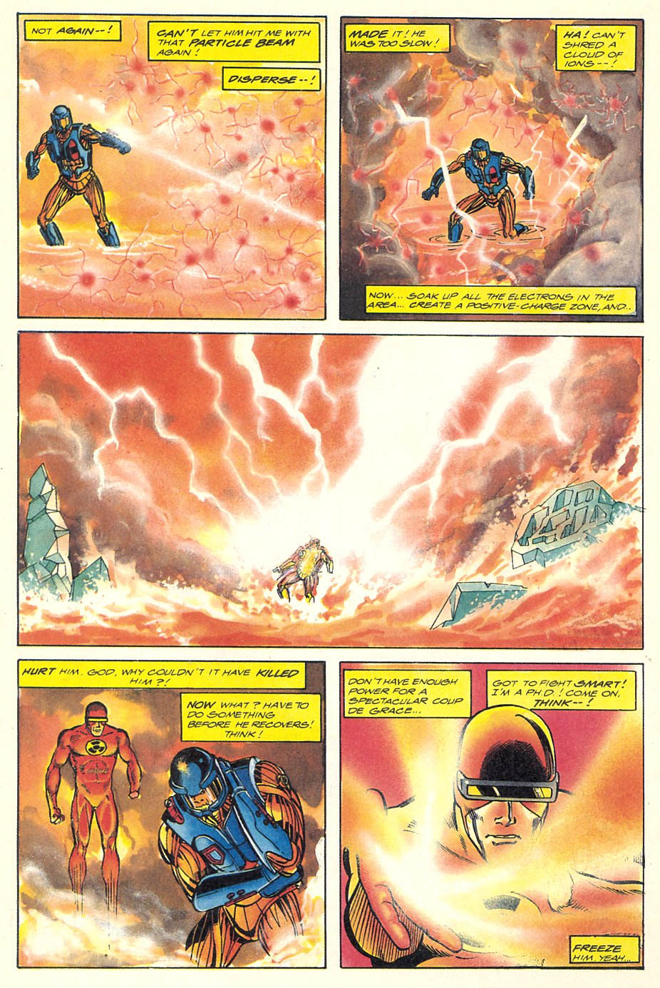 Read online Solar, Man of the Atom comic -  Issue #7 - 29
