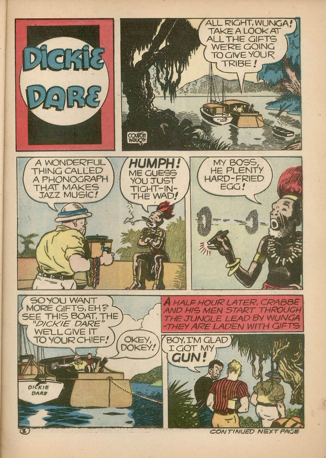 Read online Famous Funnies comic -  Issue #98 - 19