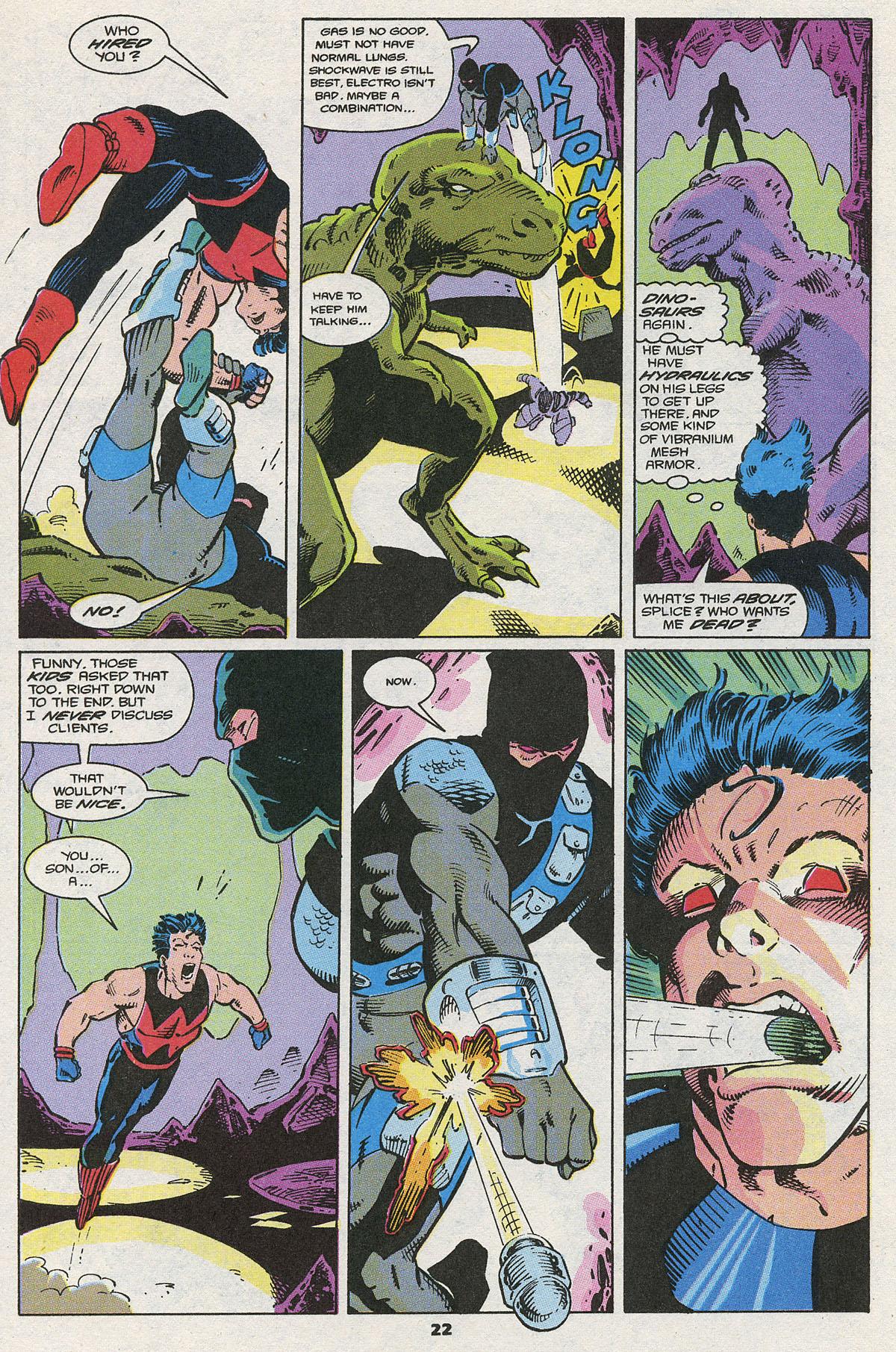 Read online Wonder Man (1991) comic -  Issue #4 - 17