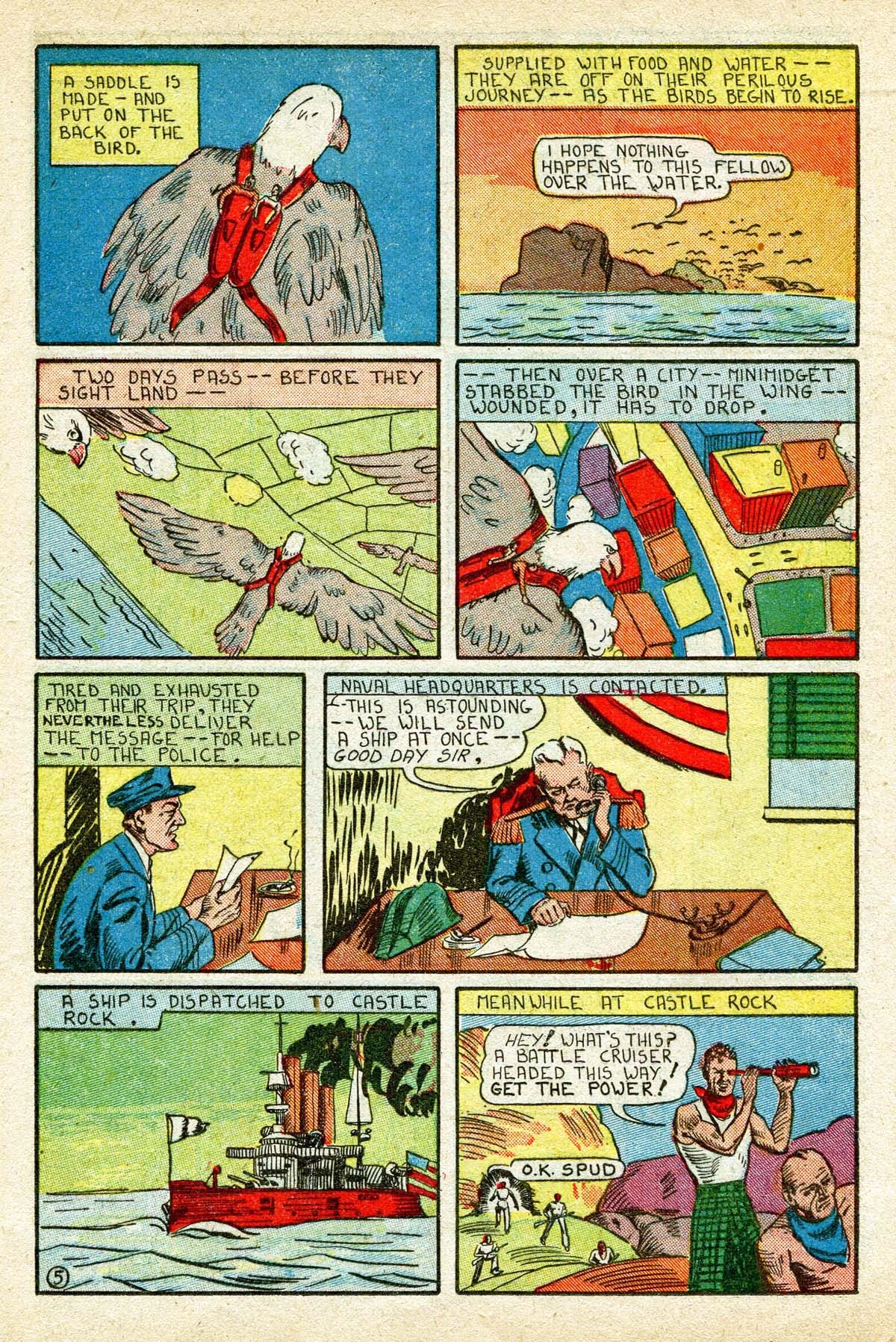 Read online Amazing Man Comics comic -  Issue #8 - 41