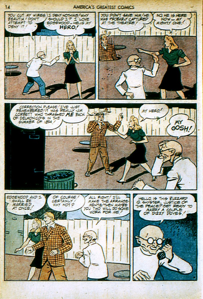 Read online America's Greatest Comics comic -  Issue #4 - 14