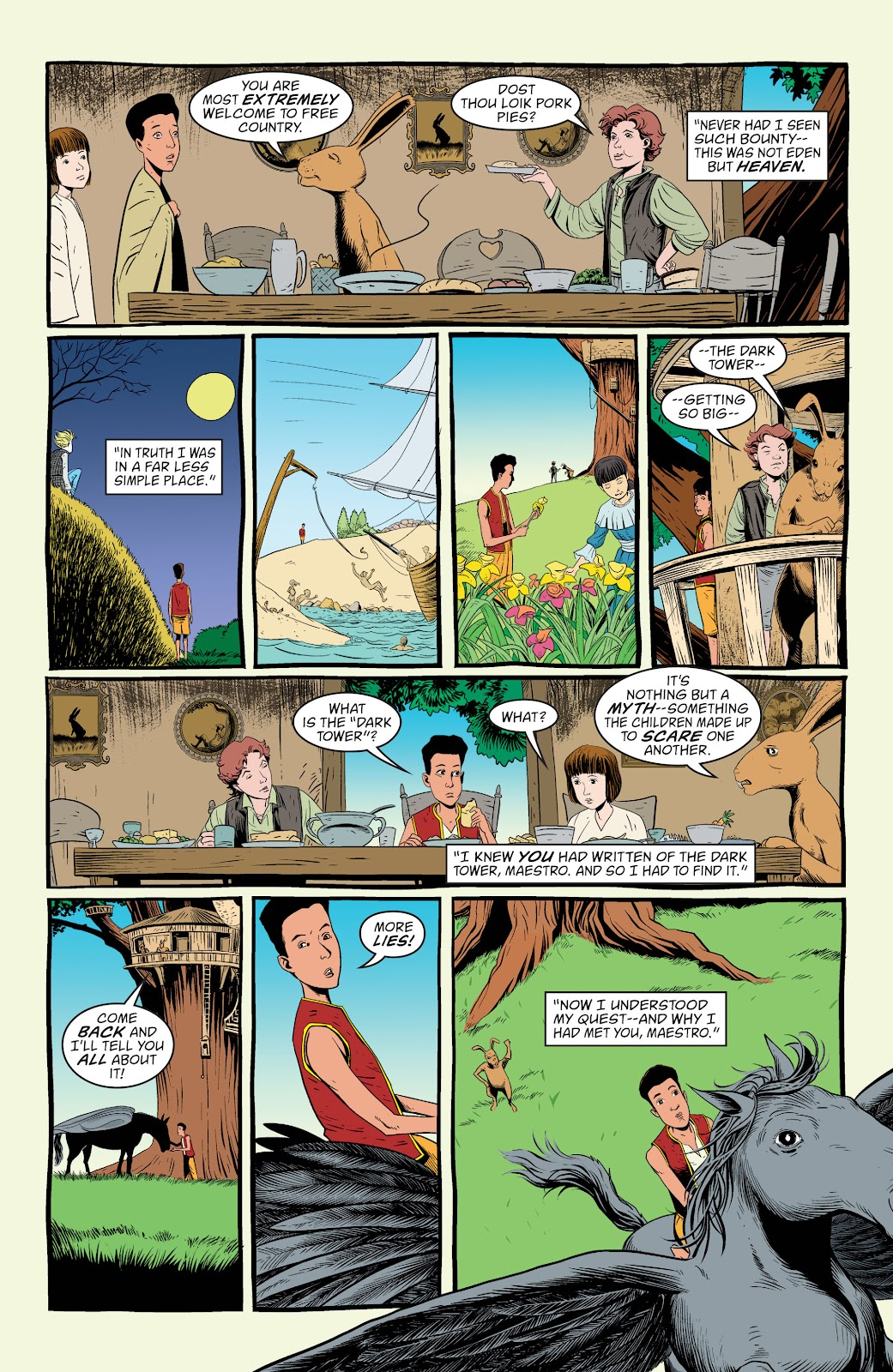 Read online The Children's Crusade comic -  Issue # _TPB (Part 1) - 89