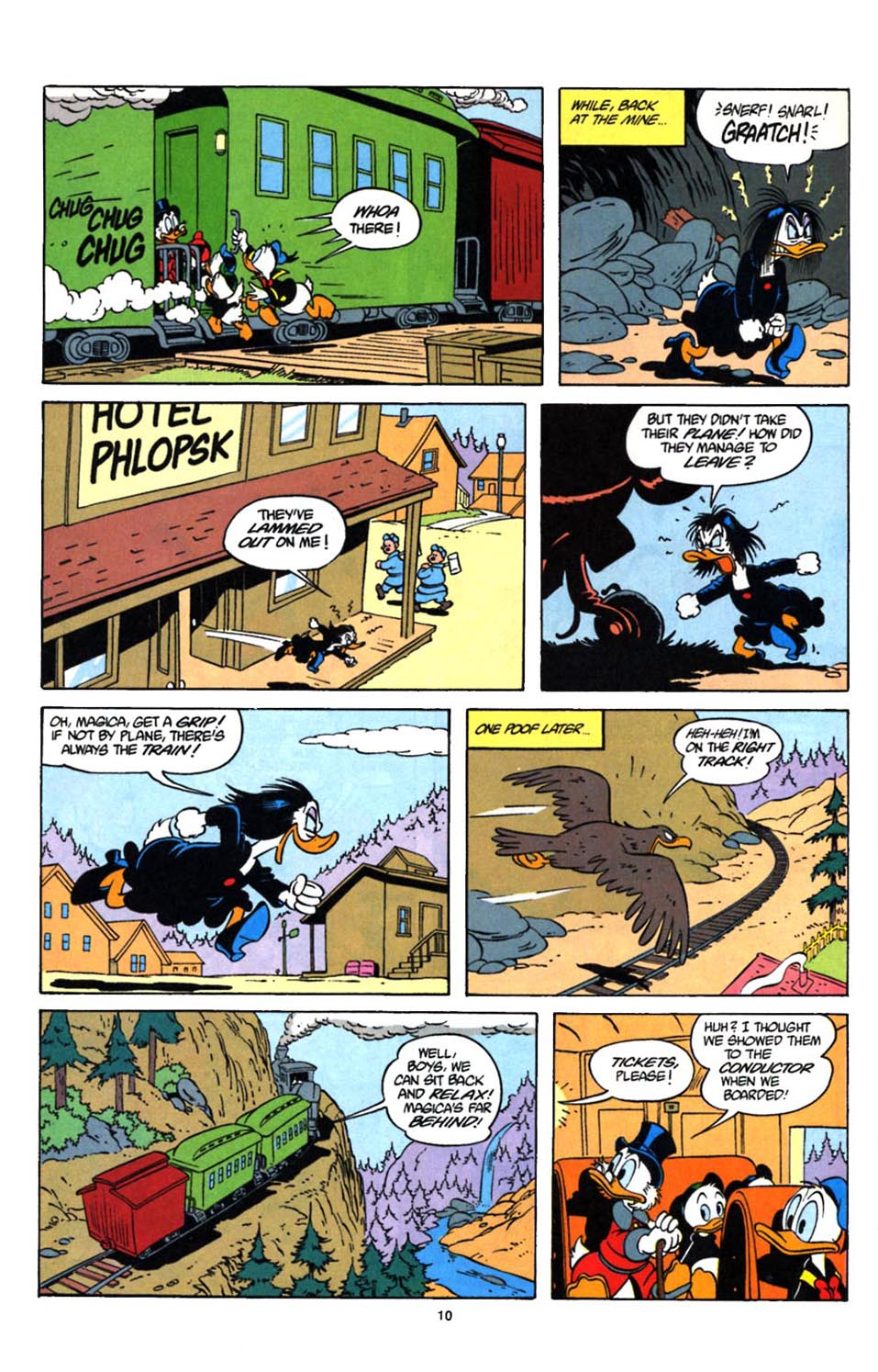 Read online Uncle Scrooge (1953) comic -  Issue #247 - 11