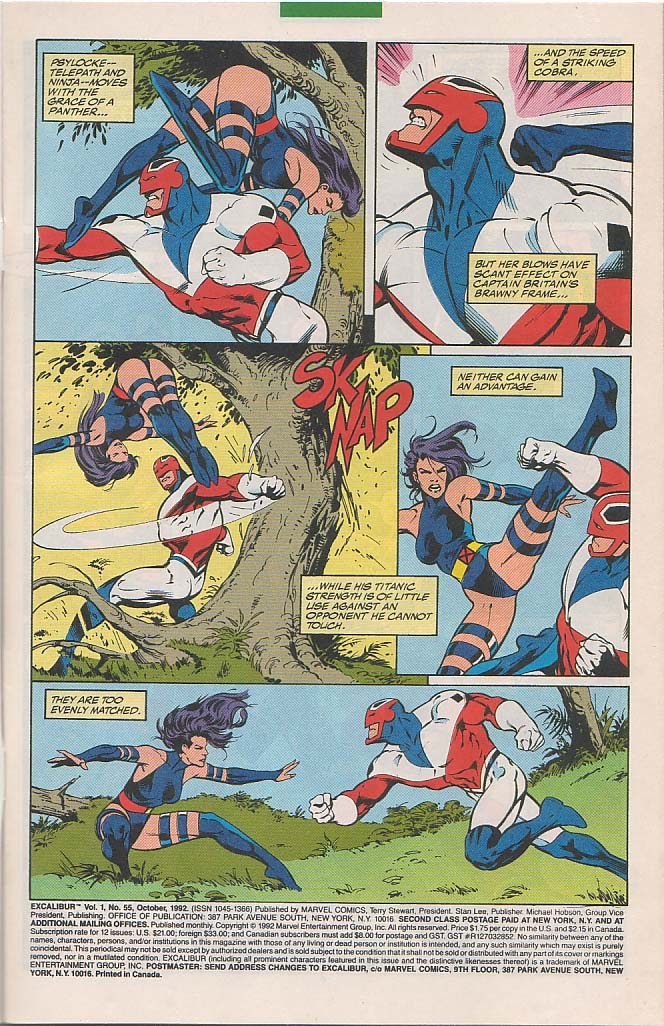 Excalibur (1988) issue 55 - Page 2