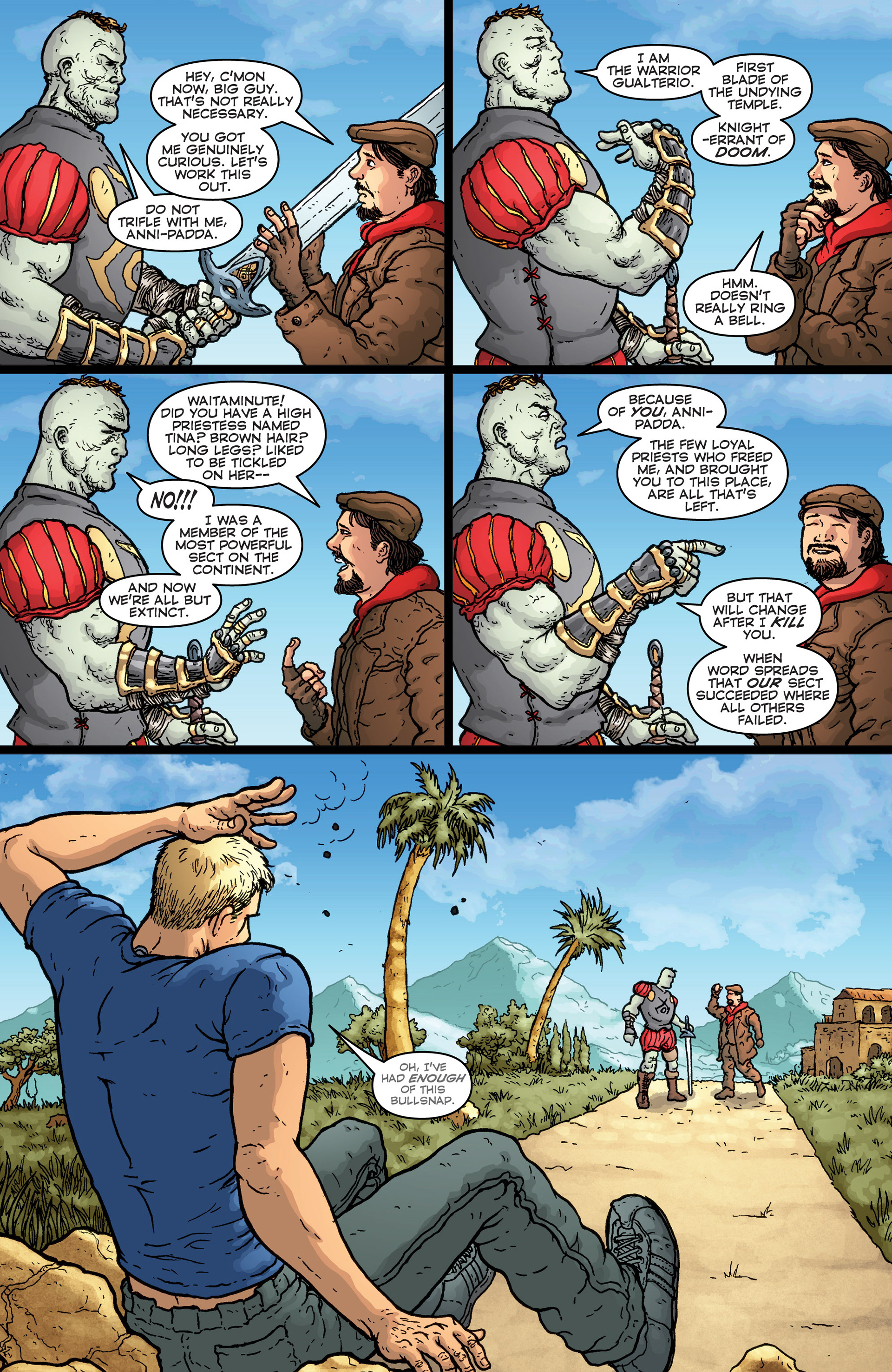 Read online Archer and Armstrong comic -  Issue #25 - 21