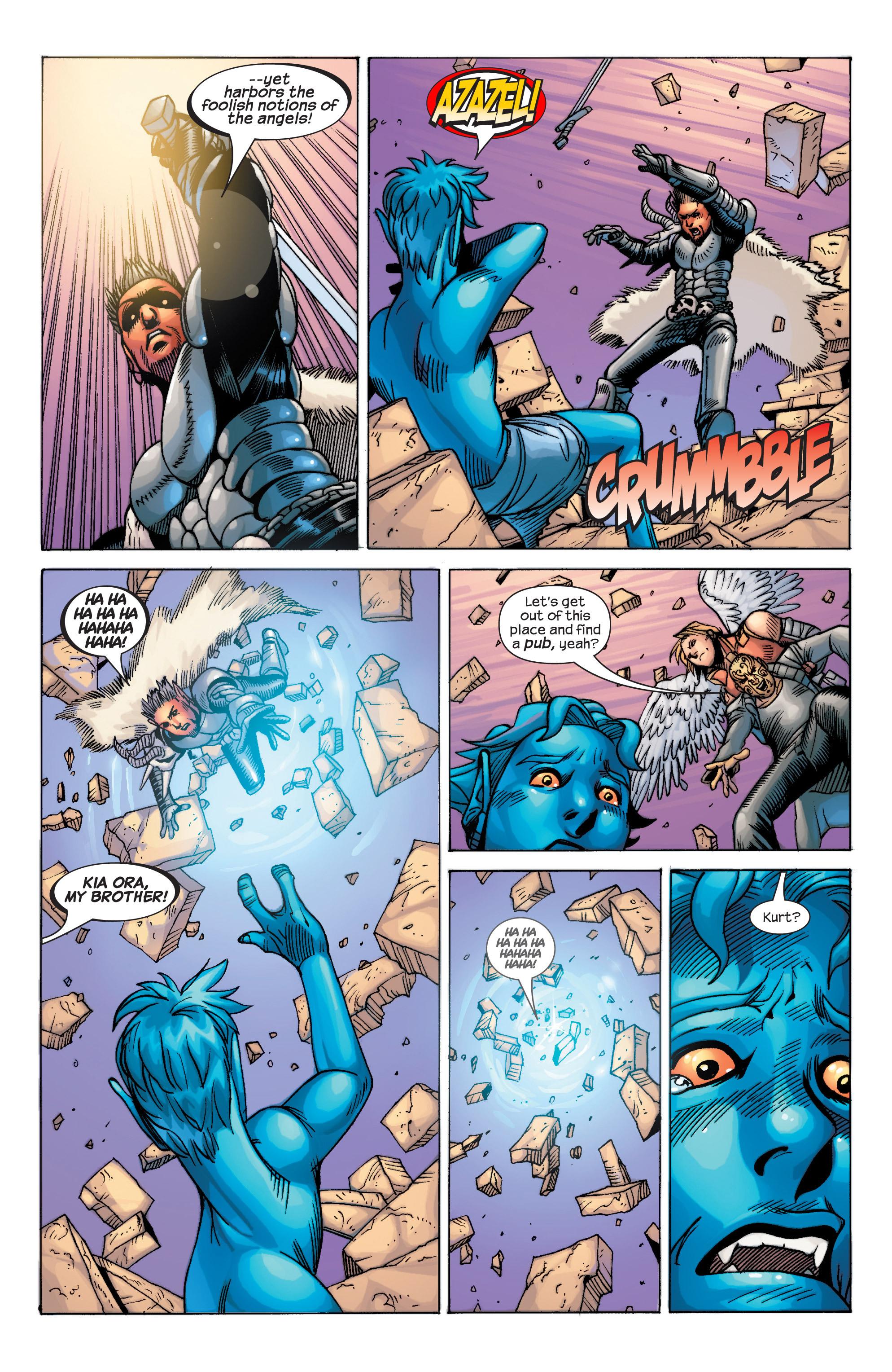 Read online Uncanny X-Men (1963) comic -  Issue #434 - 24