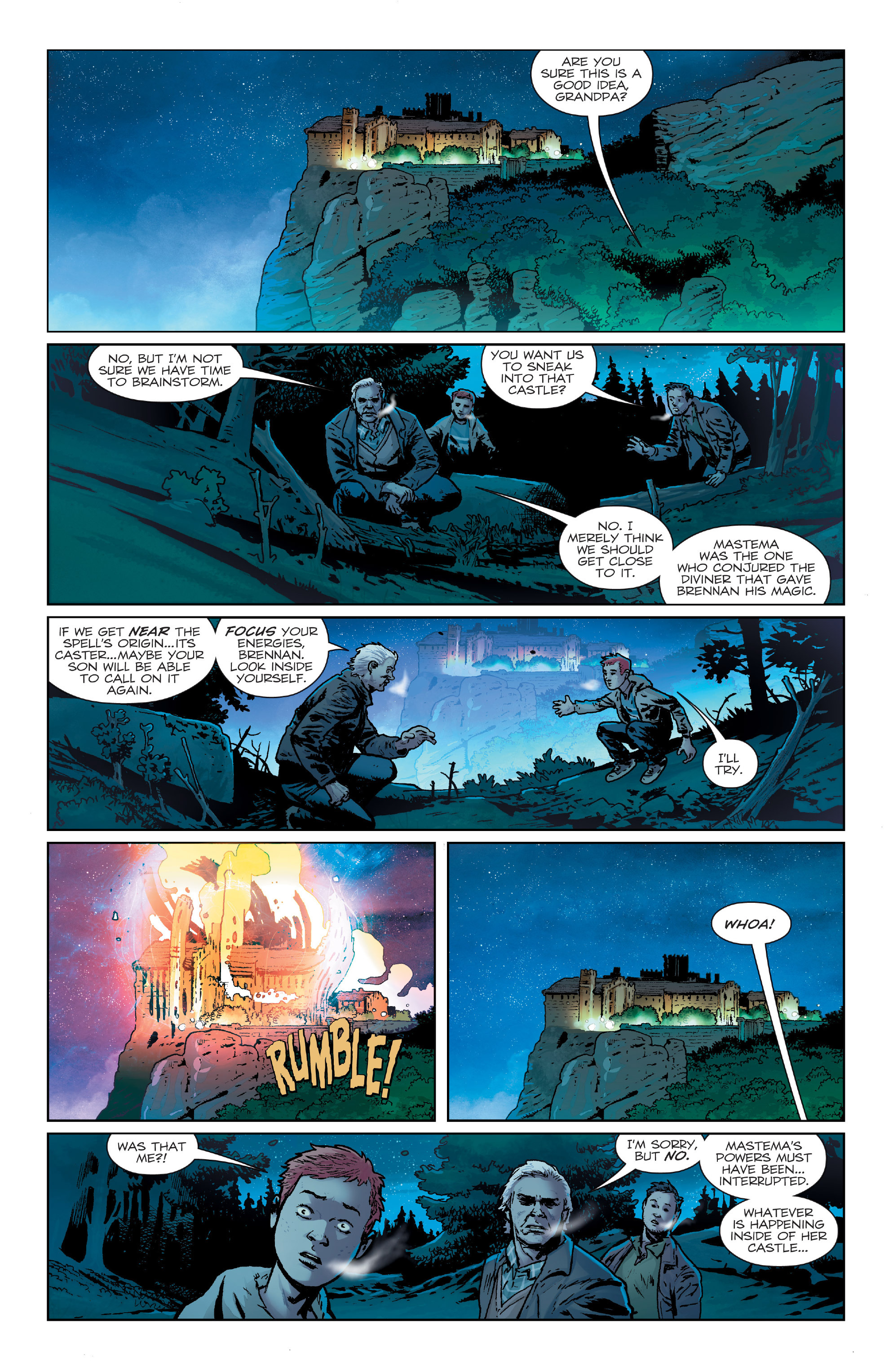 Read online Birthright (2014) comic -  Issue #24 - 3