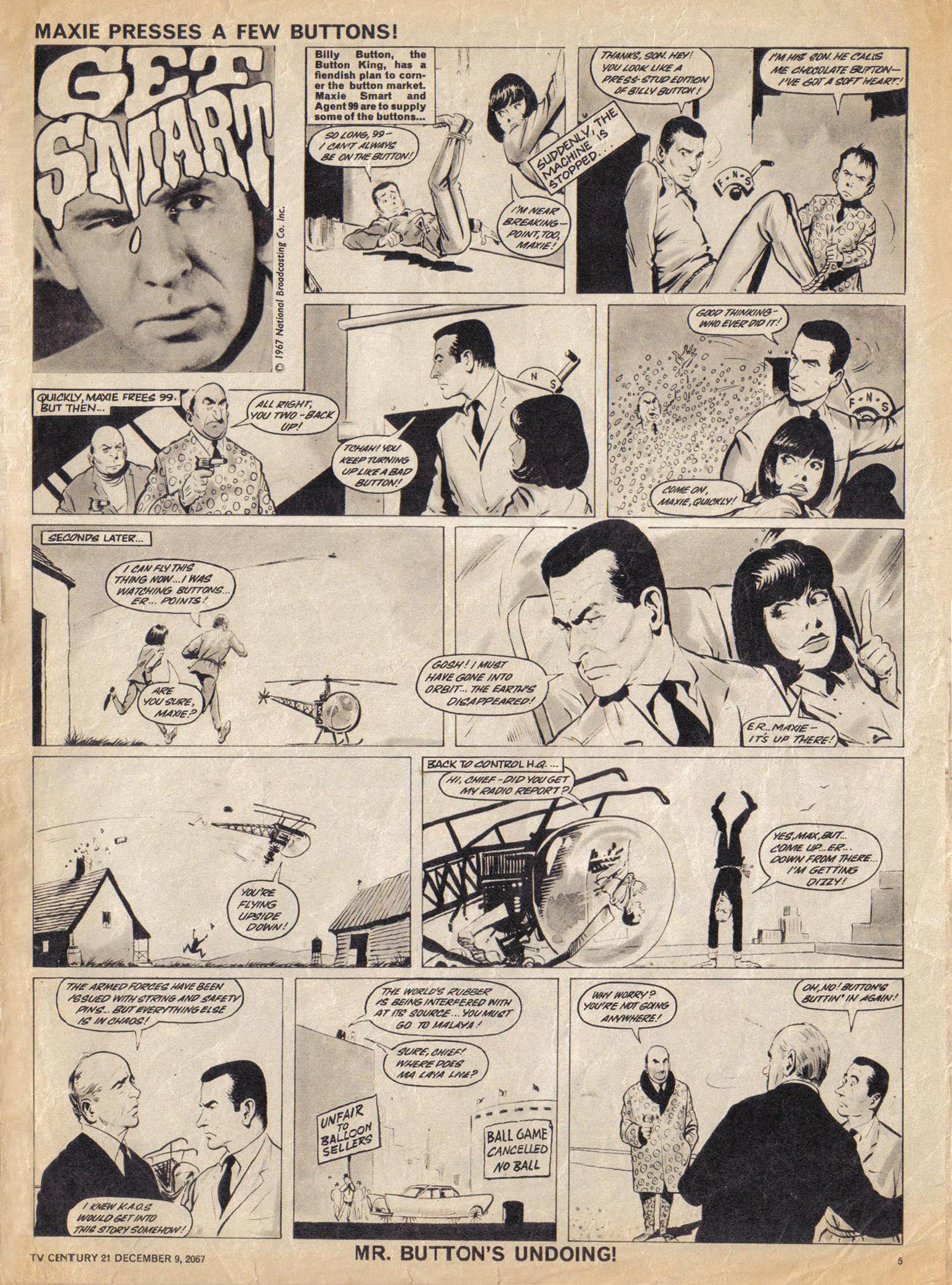Read online TV Century 21 (TV 21) comic -  Issue #151 - 6
