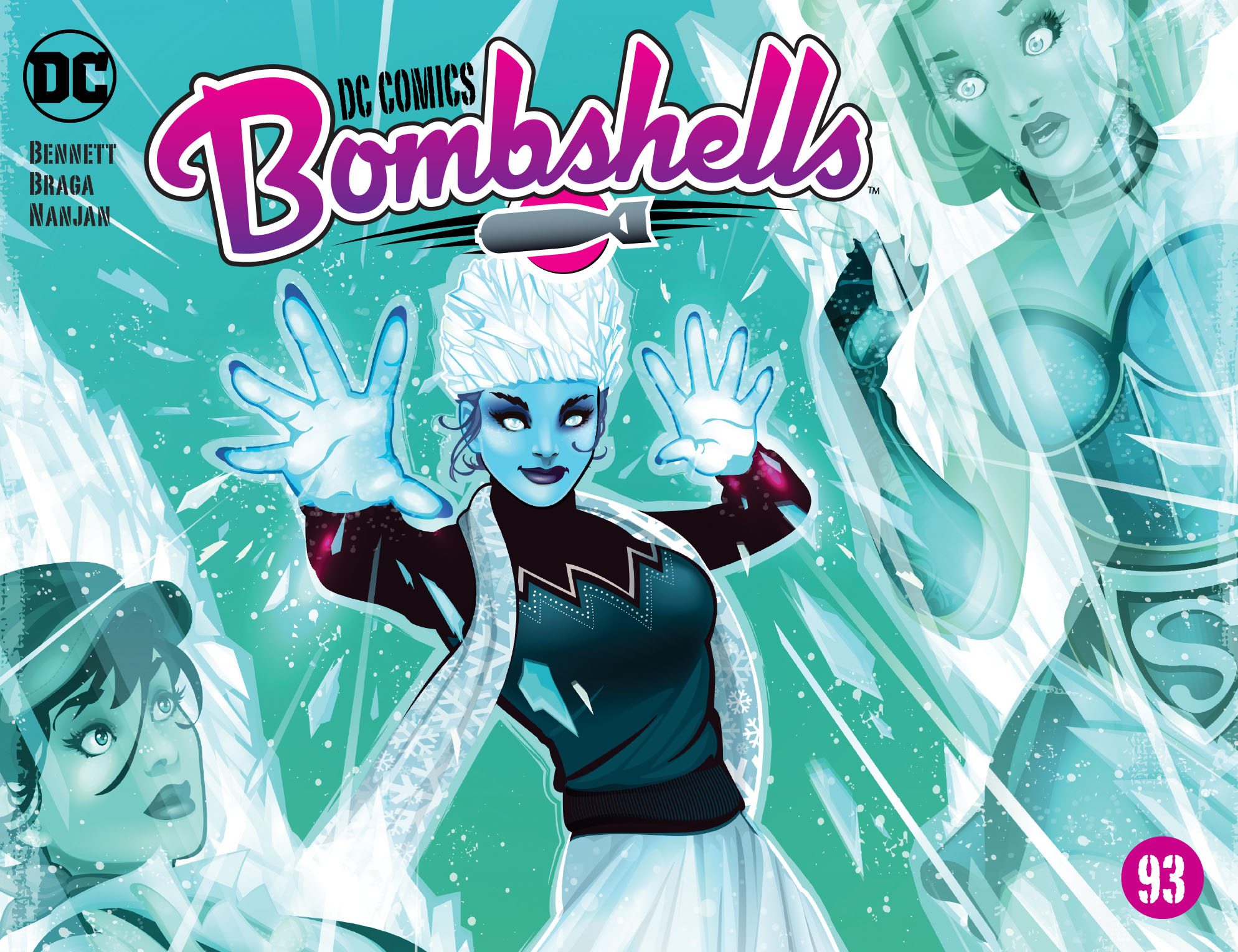 Read online DC Comics: Bombshells comic -  Issue #93 - 1